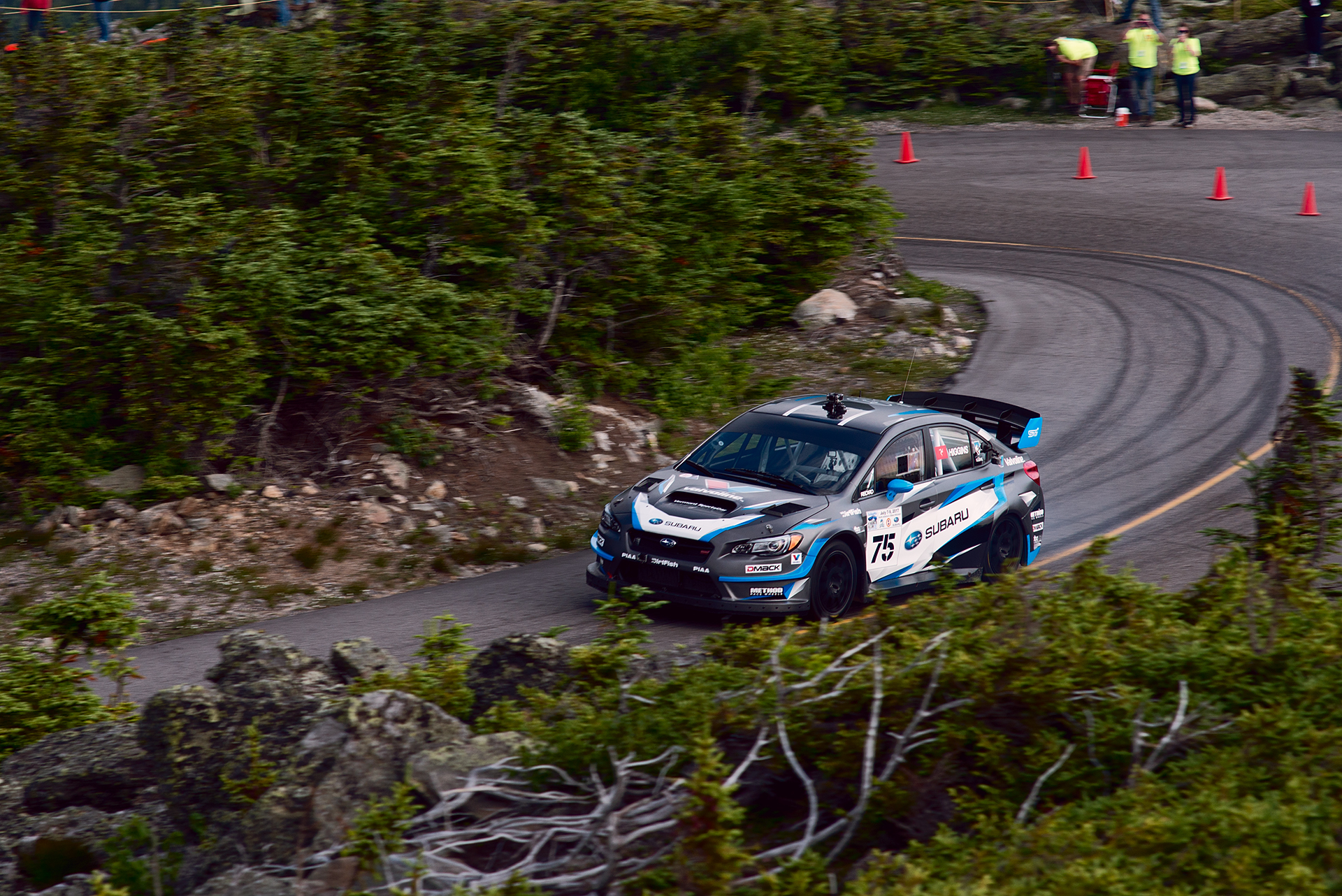 Car 75 at Climb to the Clouds 2017