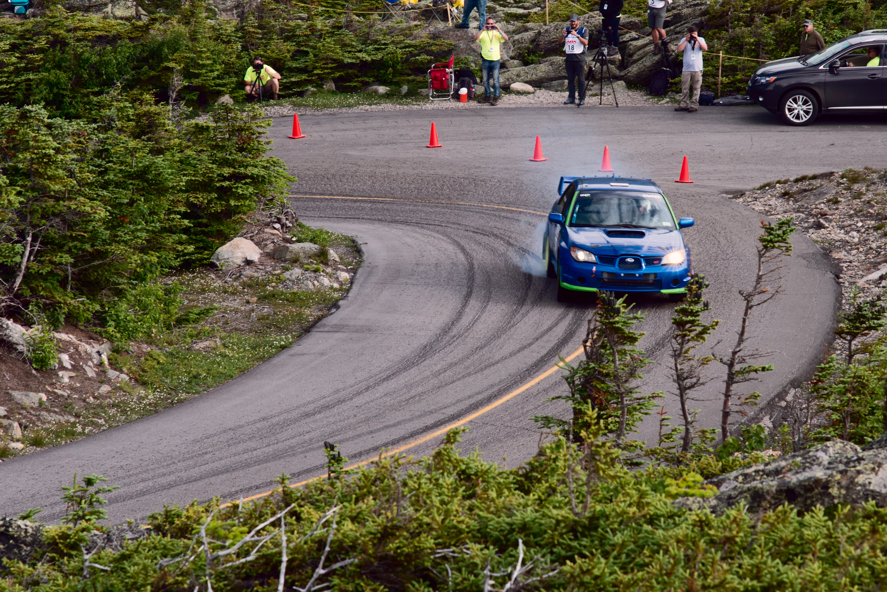 Car 77 at Climb to the Clouds 2017