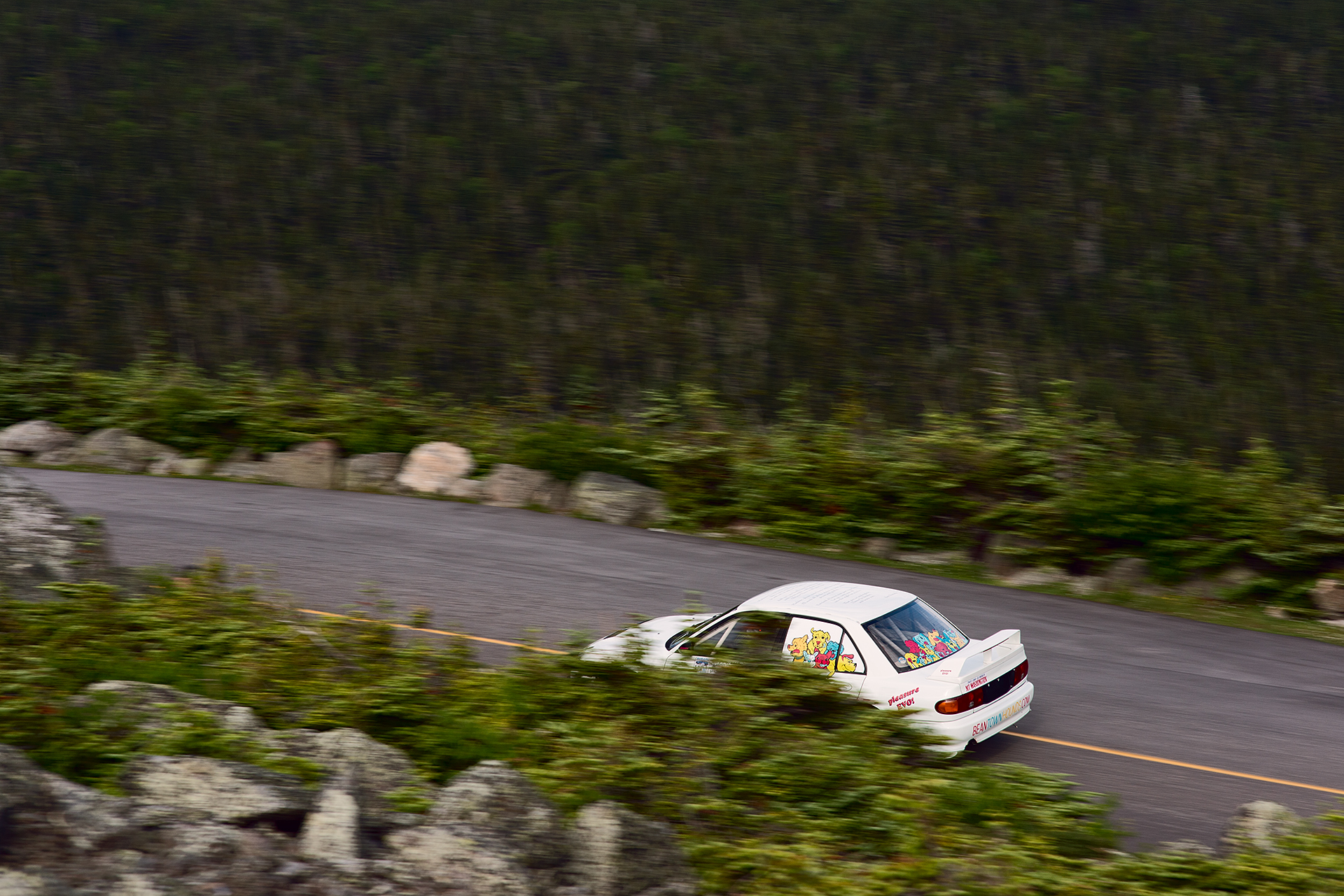 Car 61 at Climb to the Clouds 2017