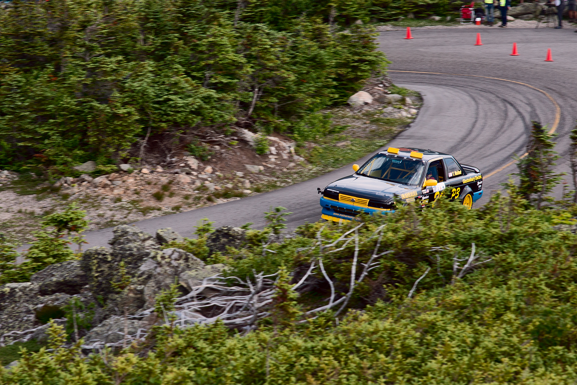 Car 20 at Climb to the Clouds 2017