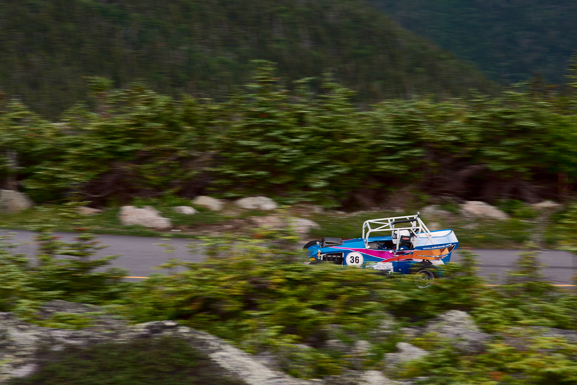 Car 36 at Climb to the Clouds 2017