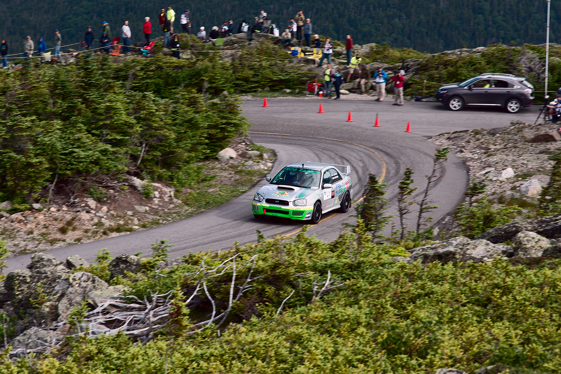 Car 966 at Climb to the Clouds 2017