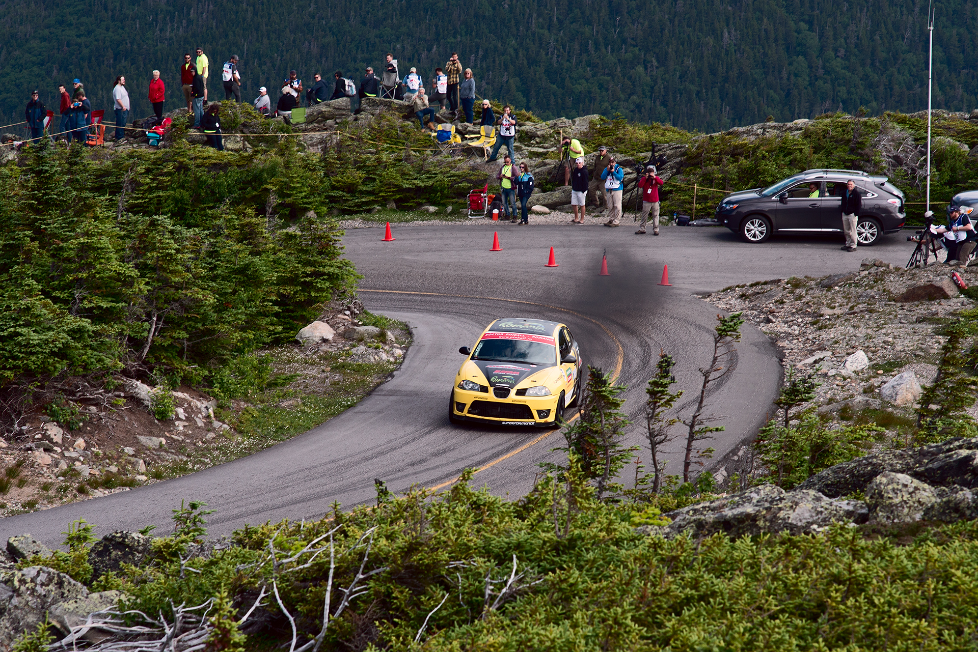 Car 47 at Climb to the Clouds 2017