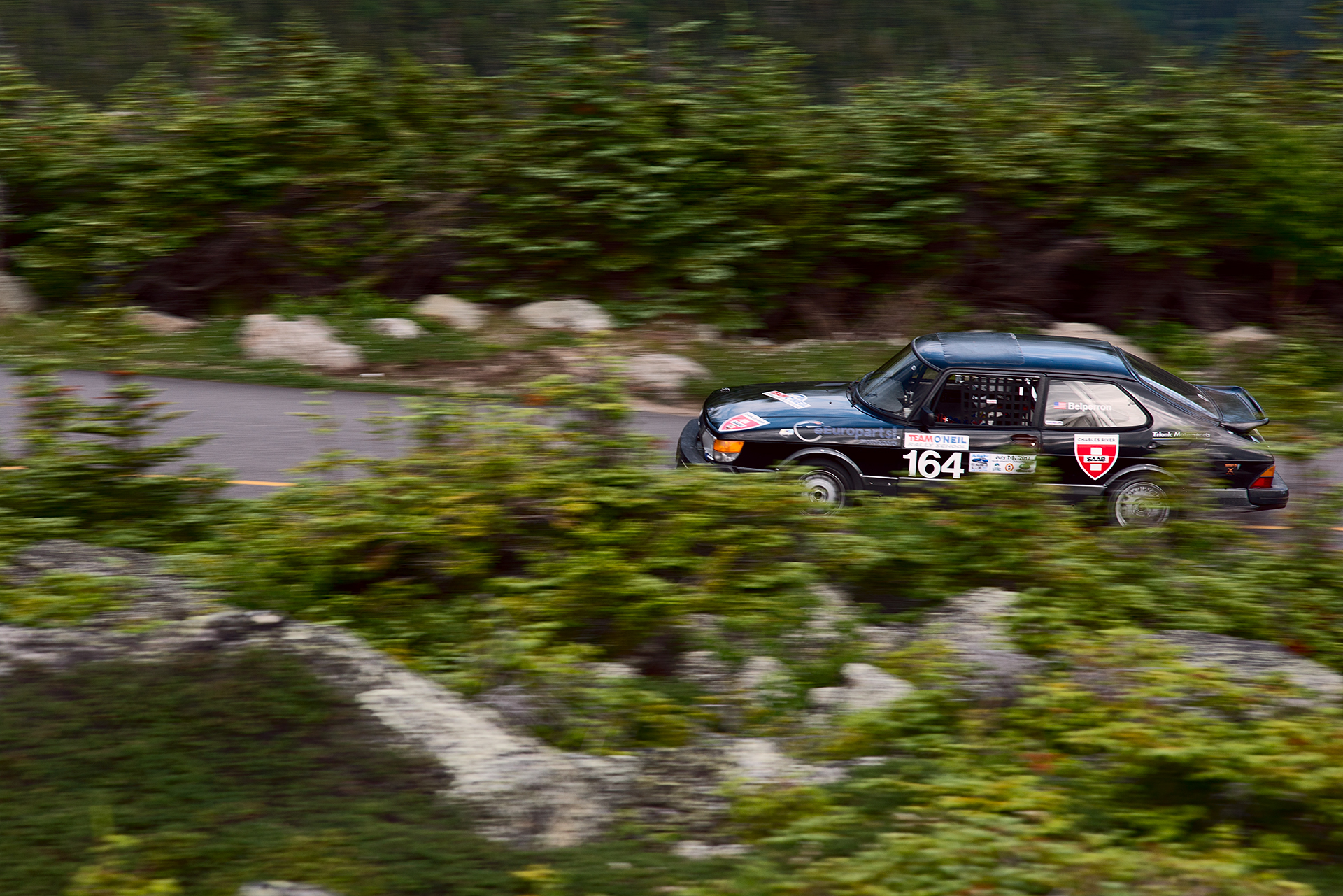 Car 164 at Climb to the Clouds 2017