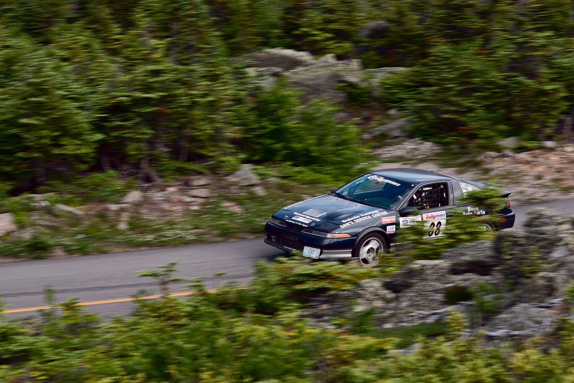 Car 88 at Climb to the Clouds 2017
