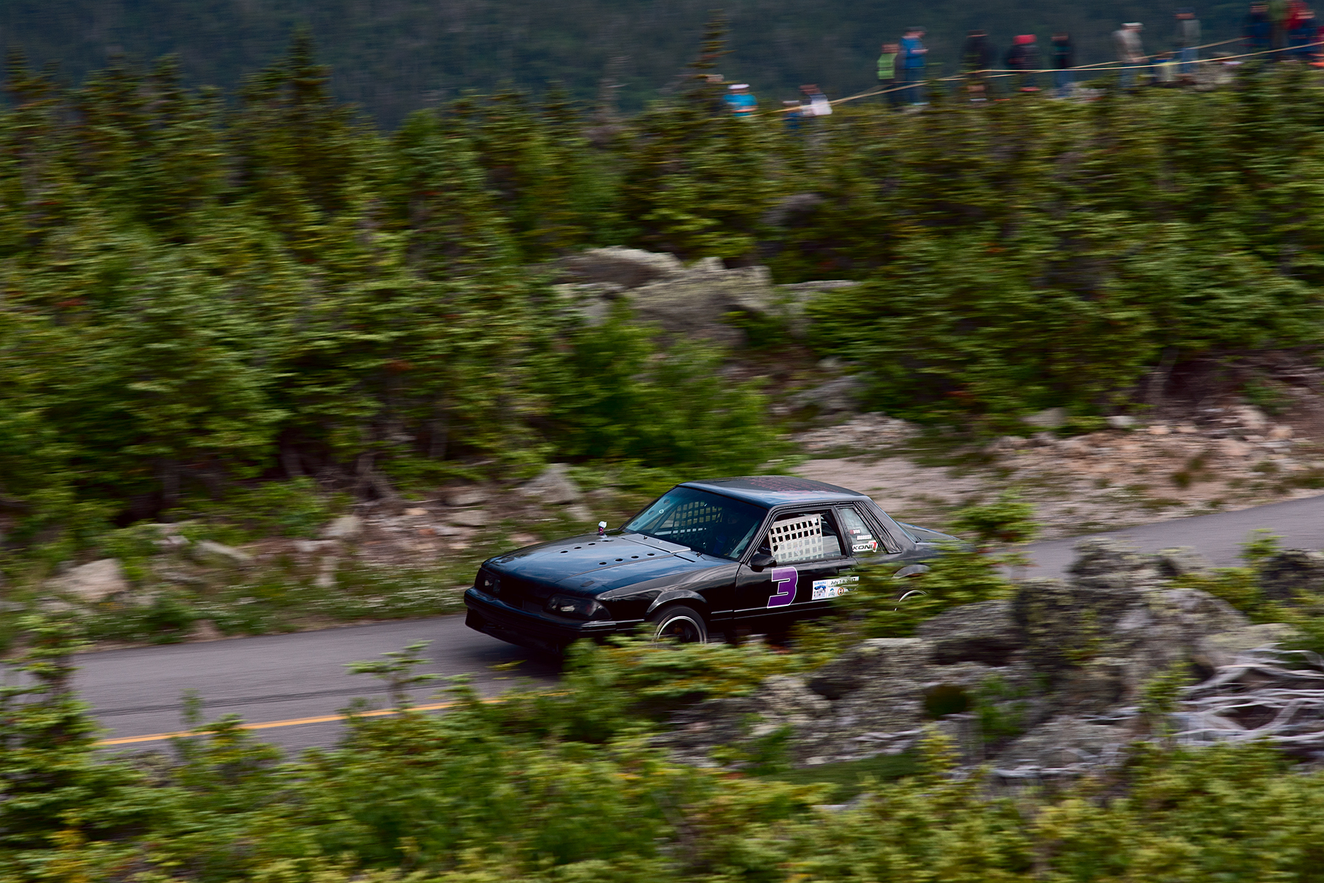 Car 3 at Climb to the Clouds 2017