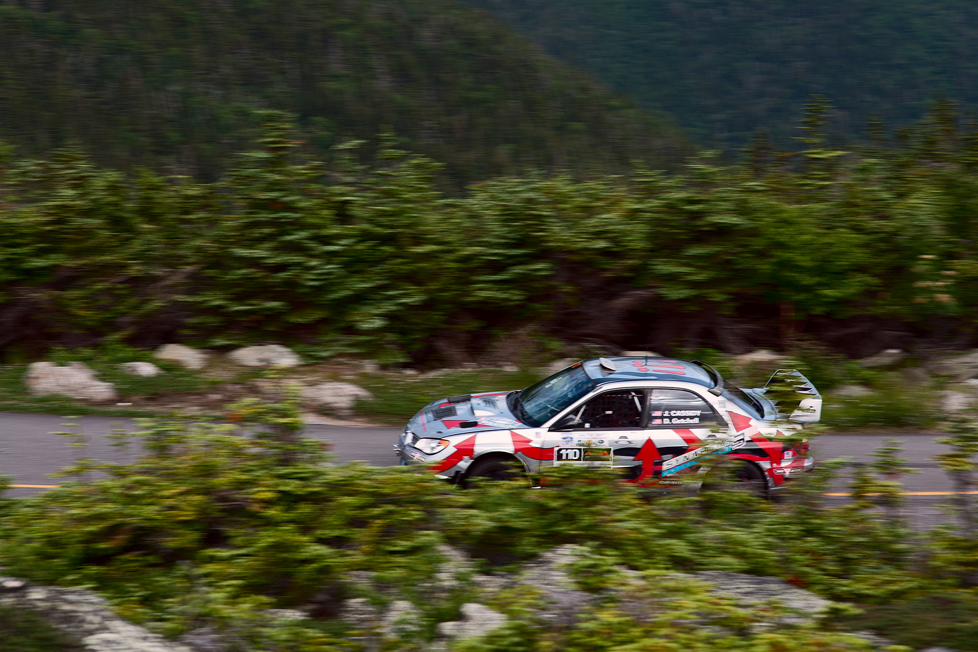 Car 110 at Climb to the Clouds 2017