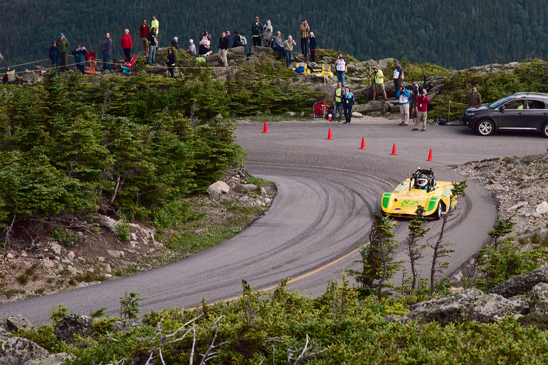 Car 82 at Climb to the Clouds 2017