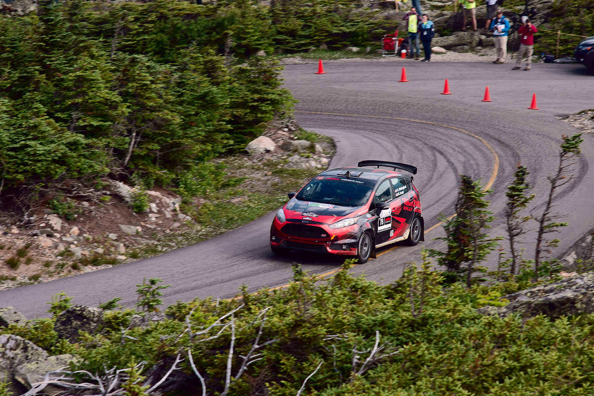 Car 78 at Climb to the Clouds 2017
