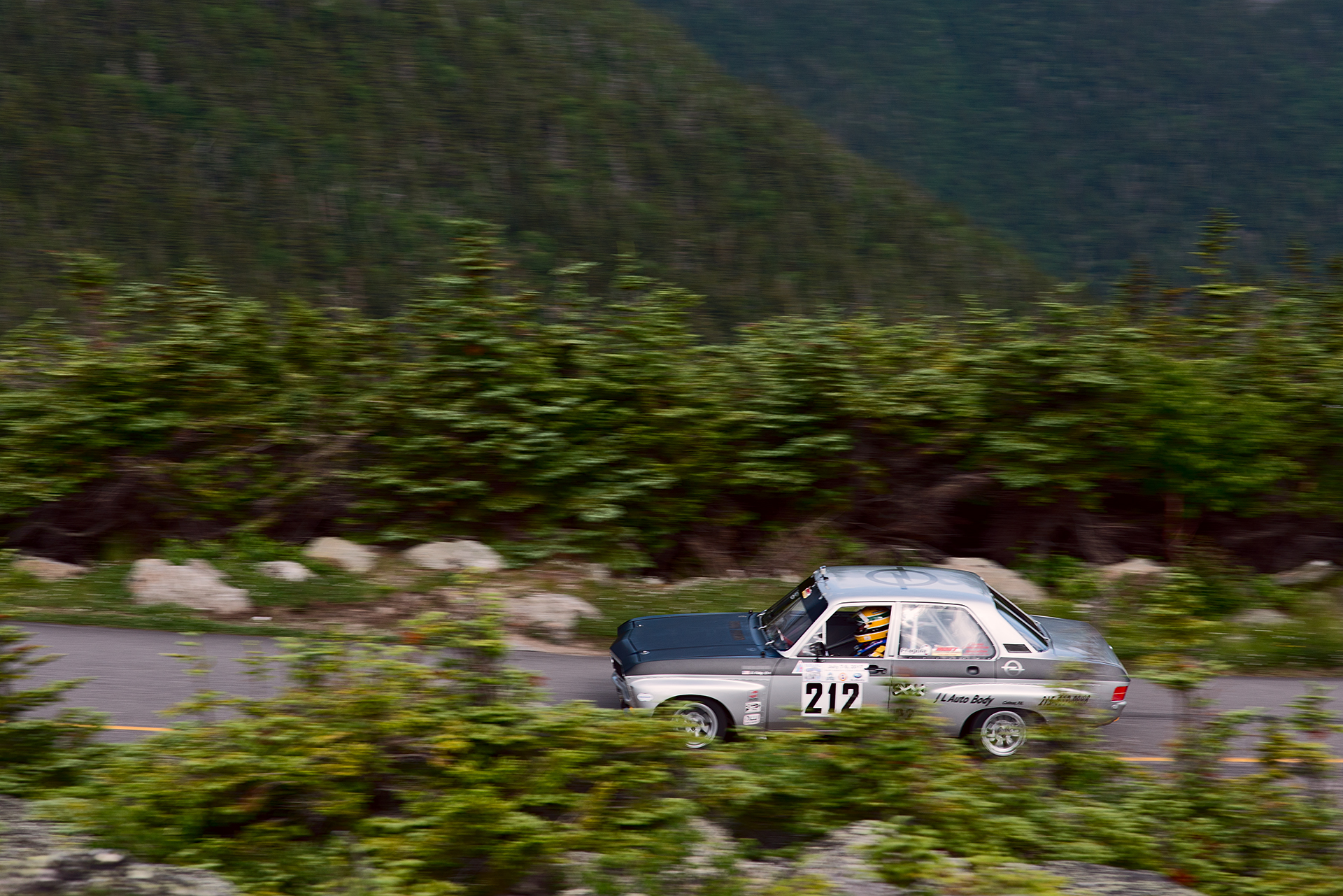 Car 212 at Climb to the Clouds 2017