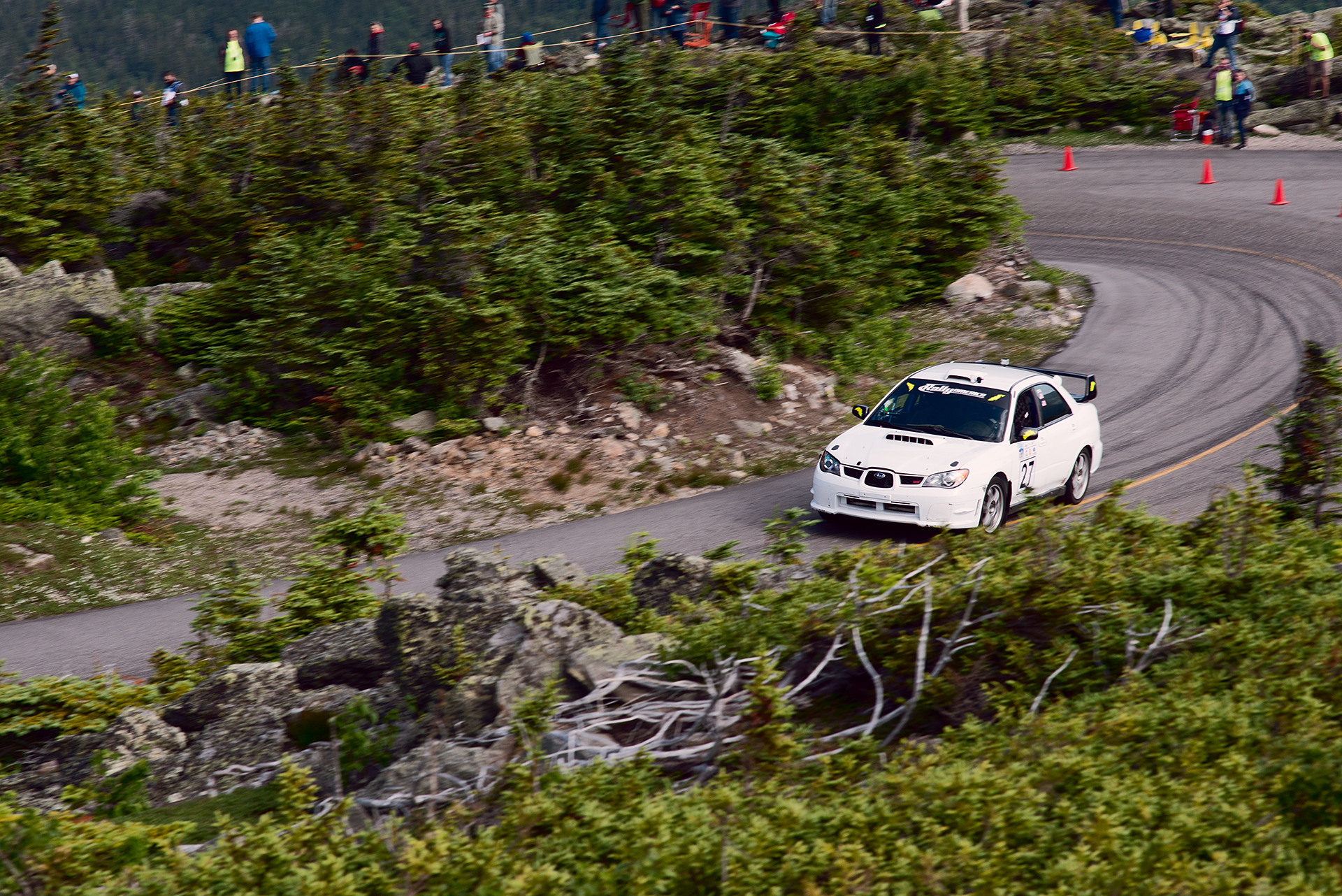 Car 27 at Climb to the Clouds 2017