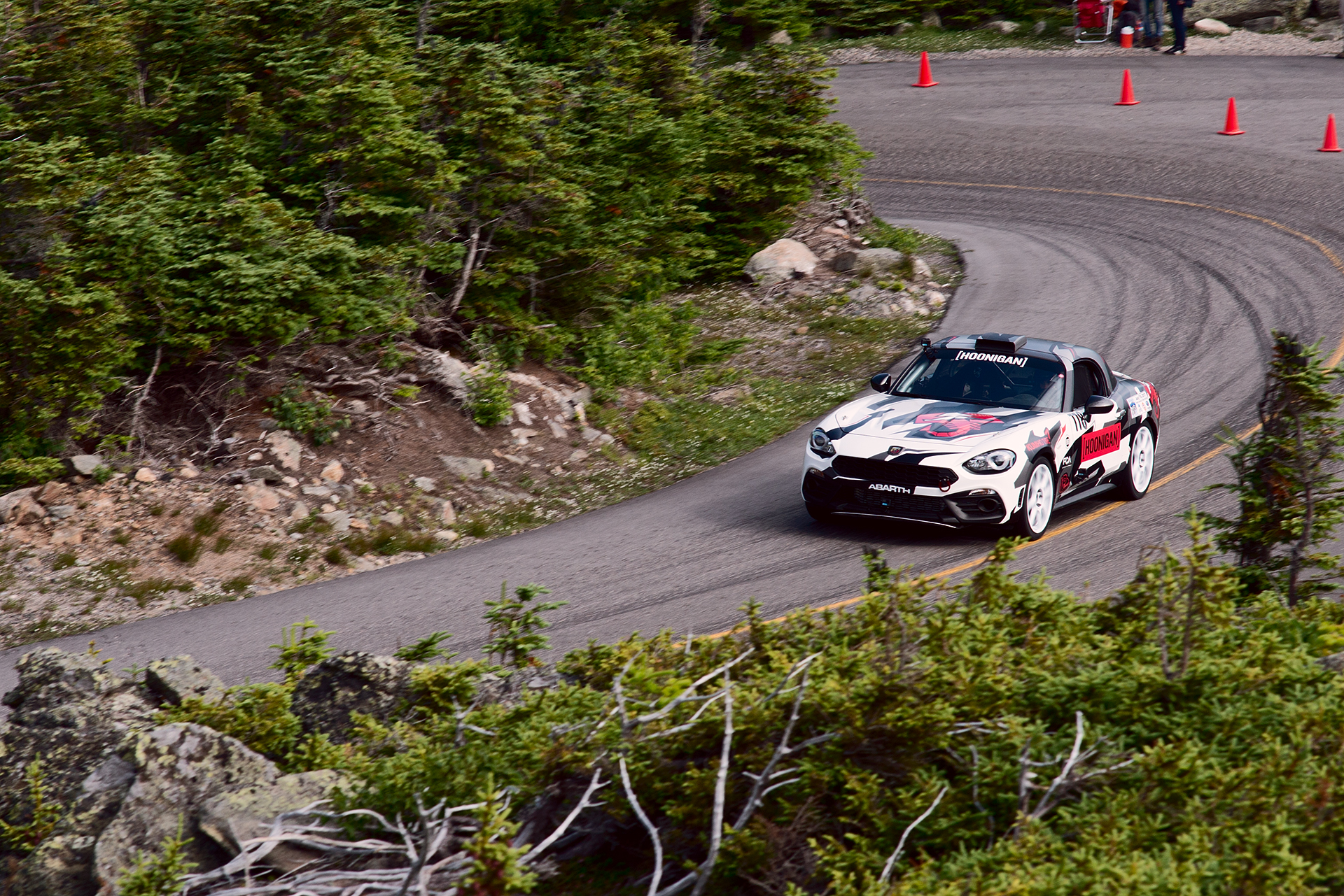 Car 778 at Climb to the Clouds 2017