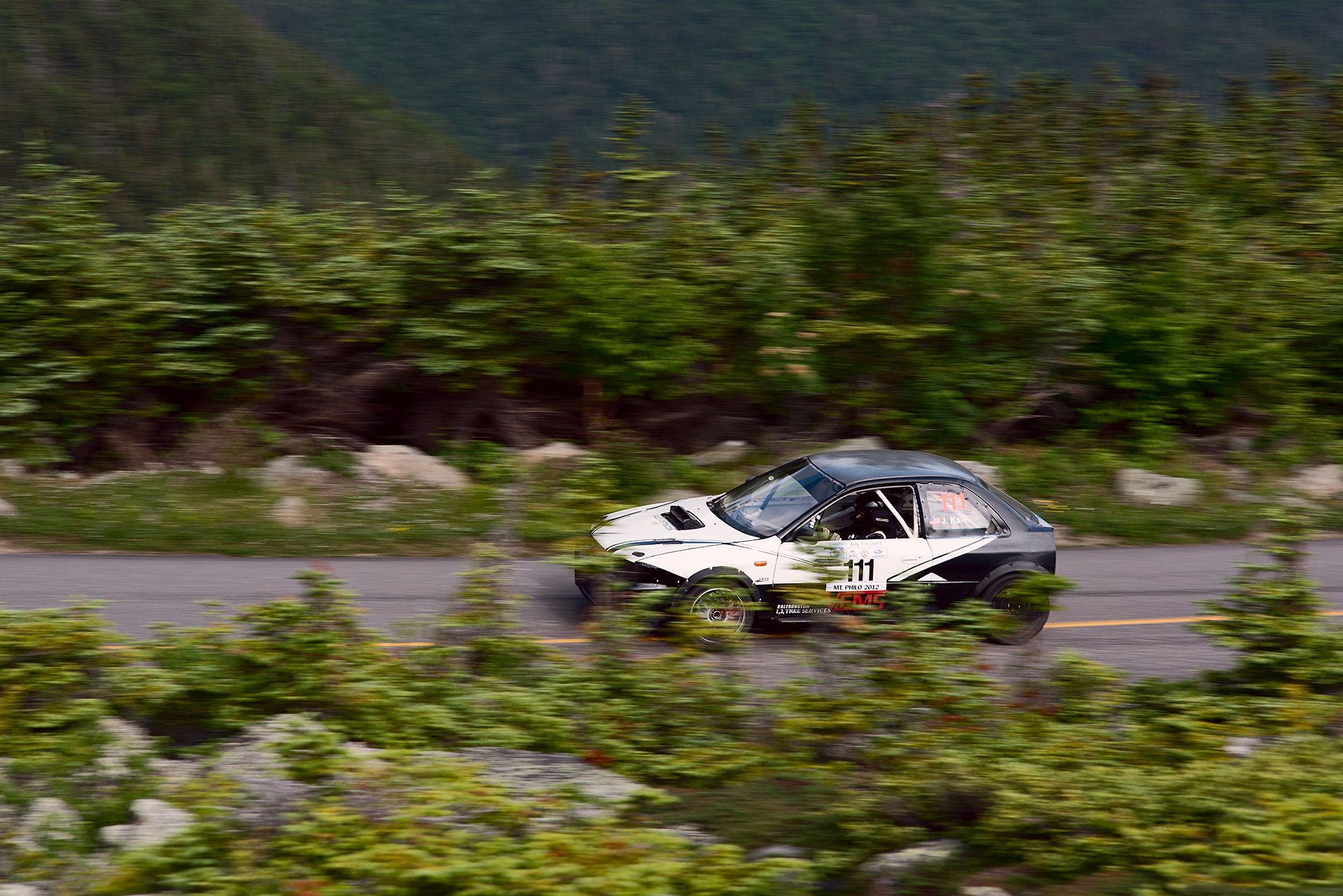 Car 111 at Climb to the Clouds 2017
