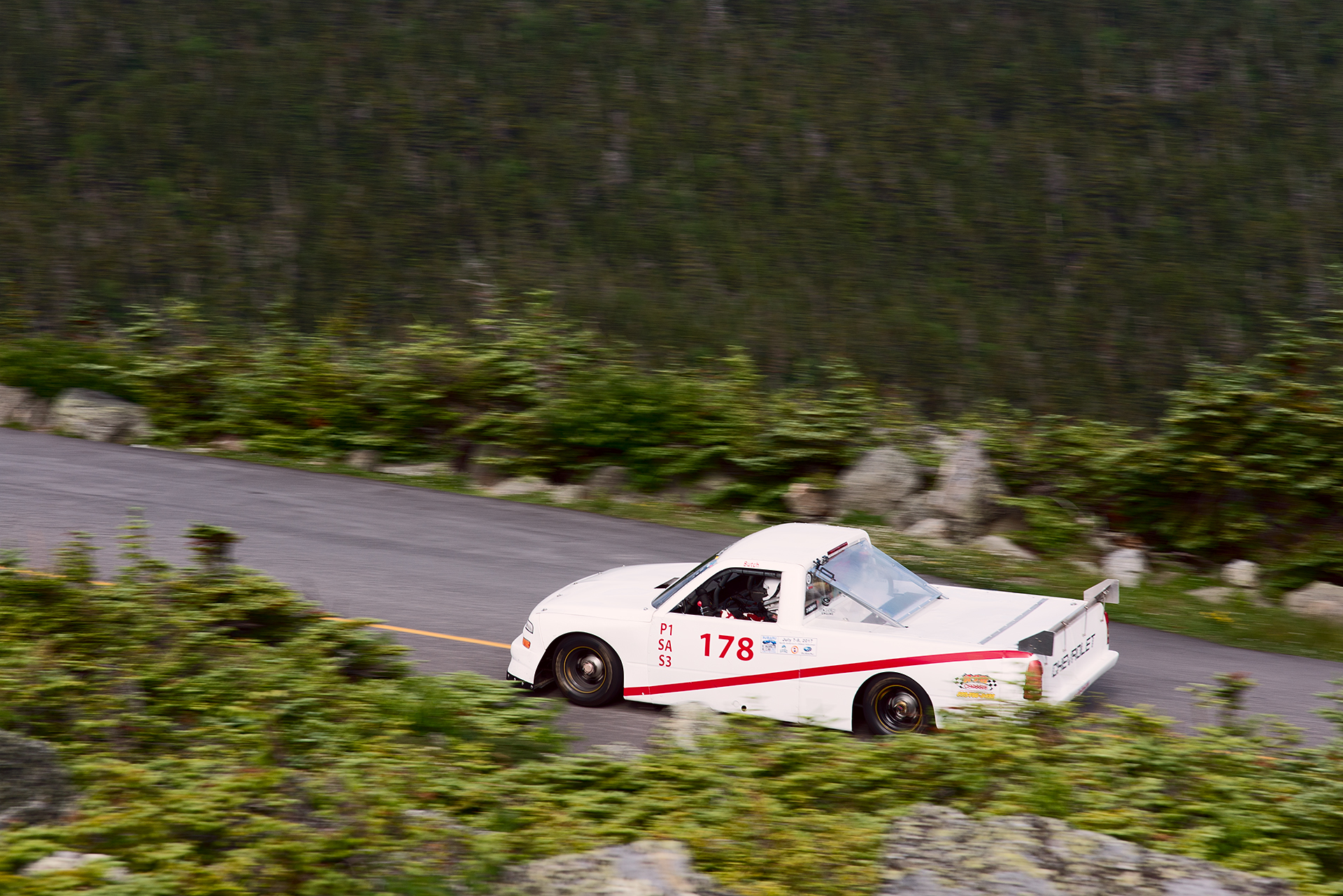 Car 178 at Climb to the Clouds 2017