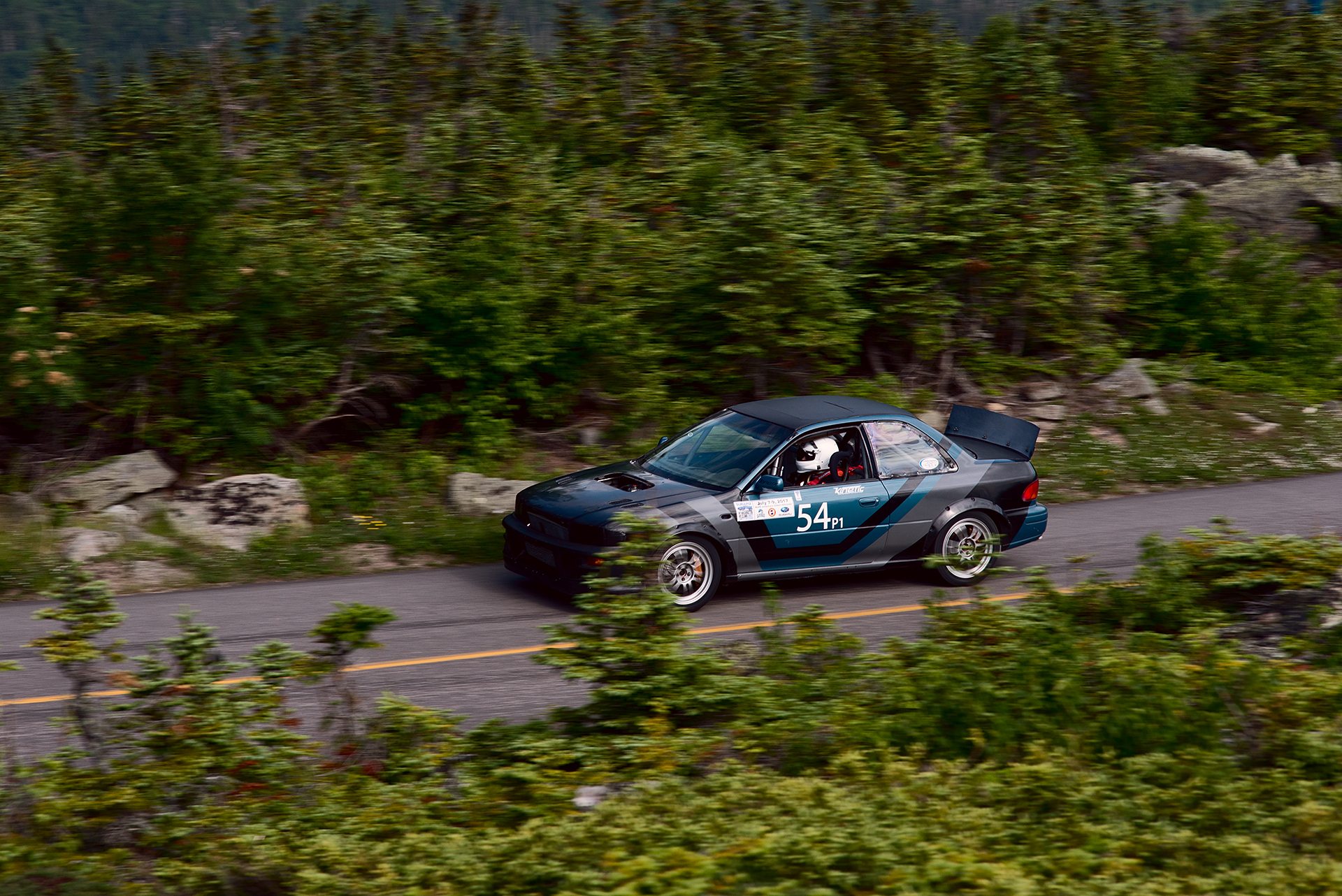 Car 54 at Climb to the Clouds 2017