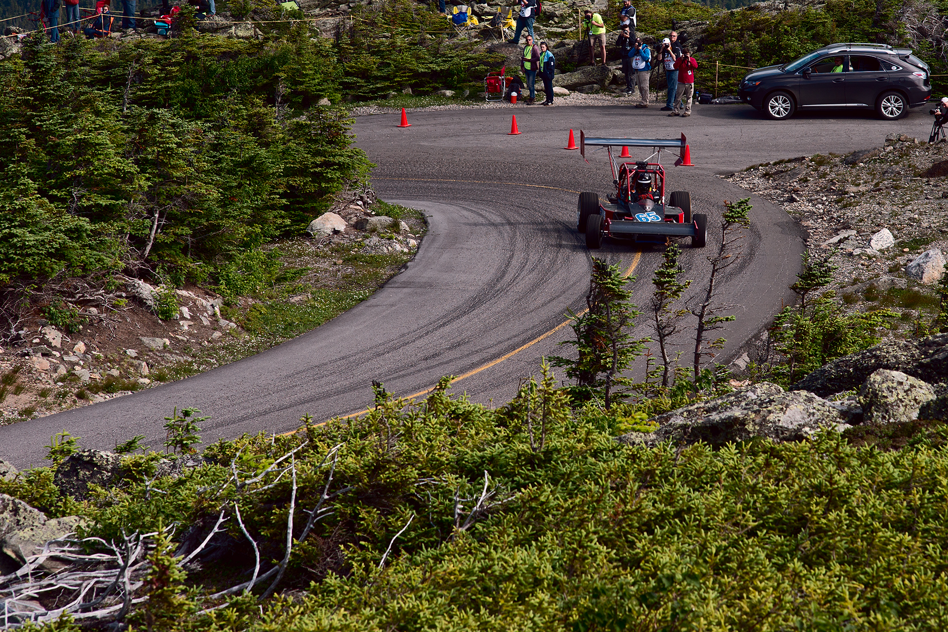 Car 65 at Climb to the Clouds 2017