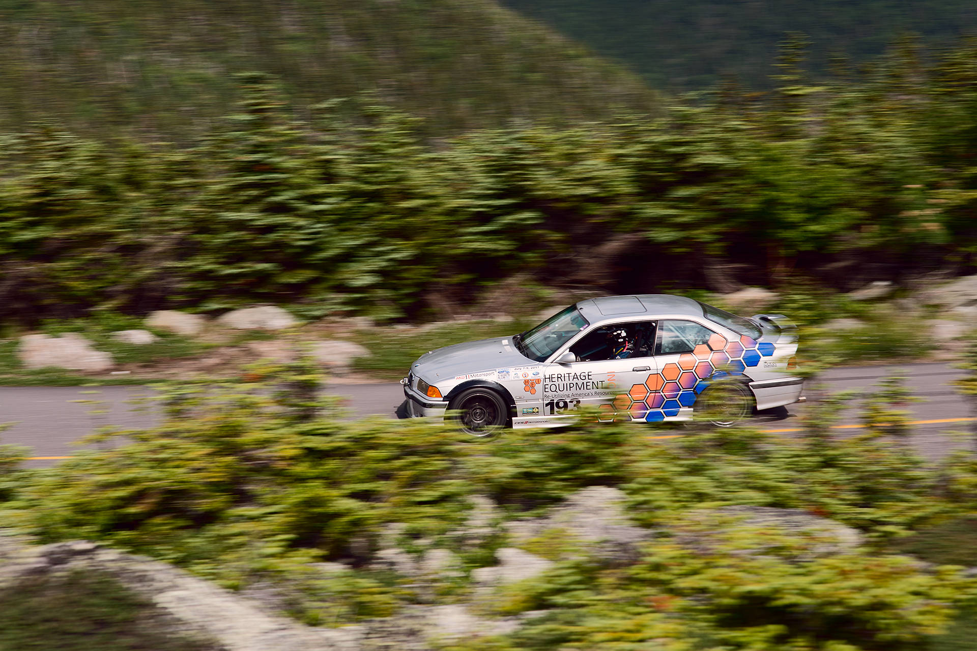 Car 193 at Climb to the Clouds 2017