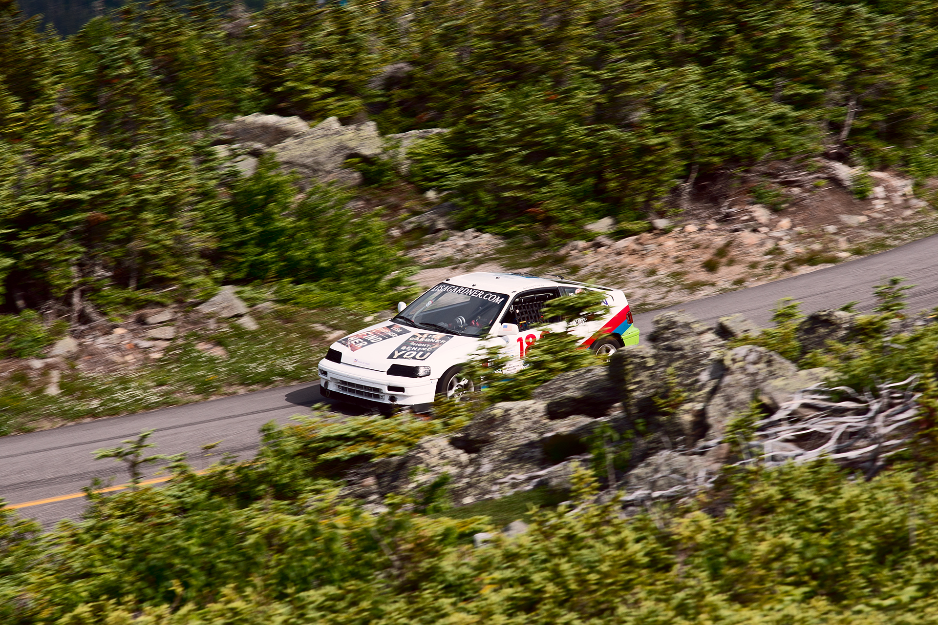 Car 186 at Climb to the Clouds 2017