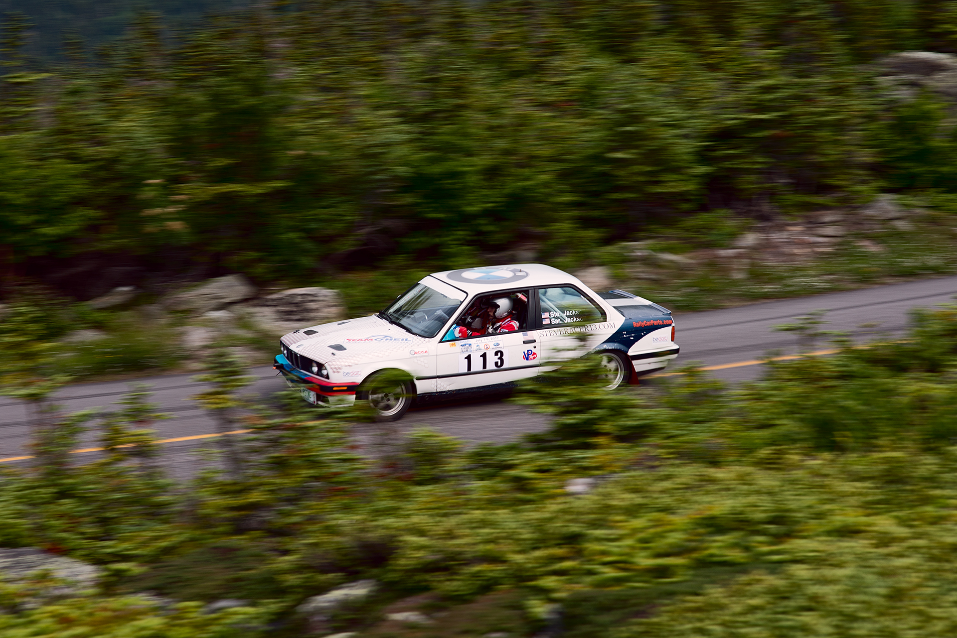 Car 113 at Climb to the Clouds 2017