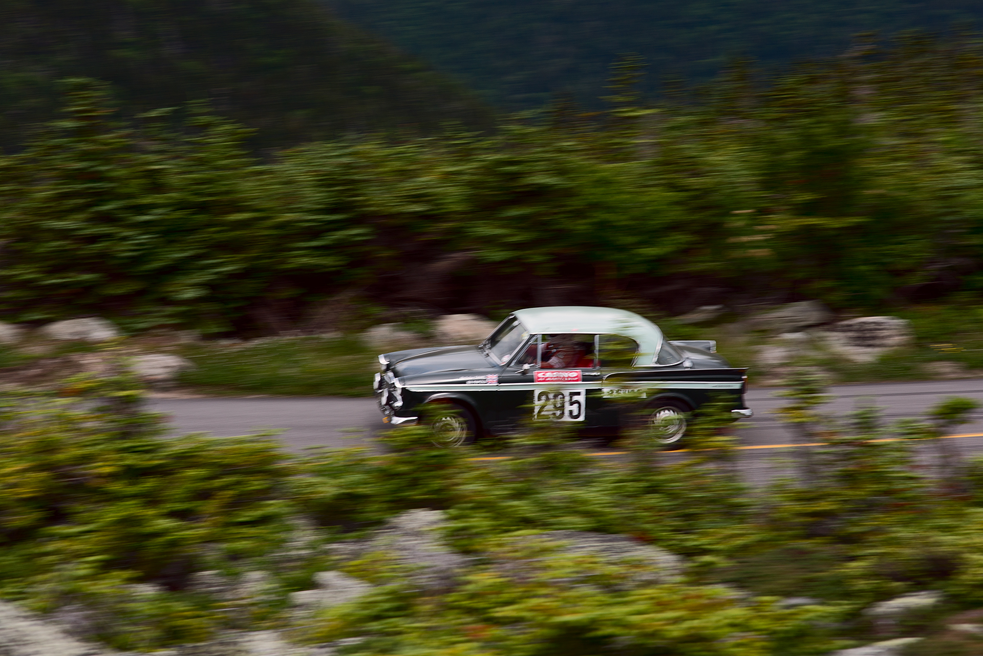 Car 295 at Climb to the Clouds 2017