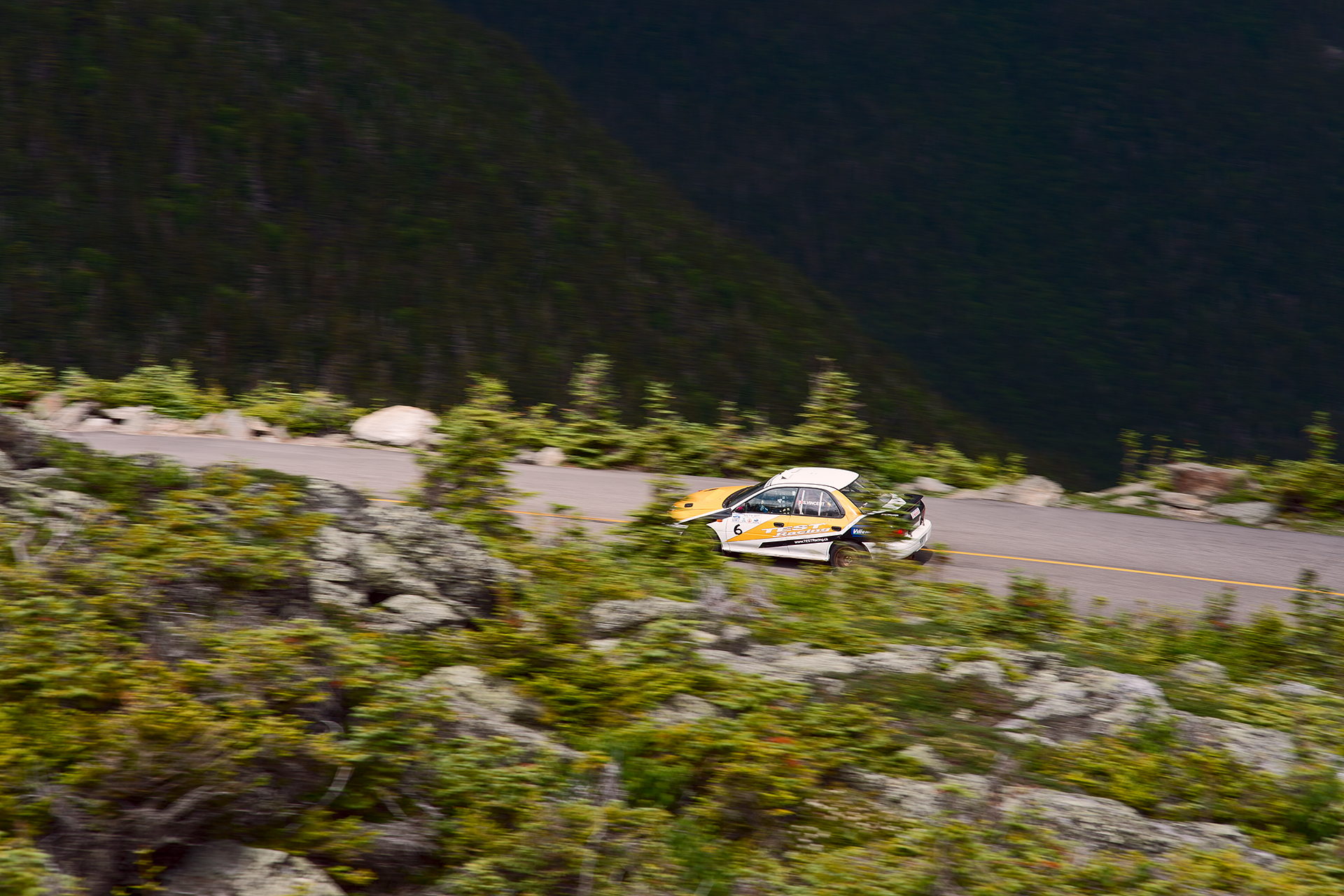 Car 6 at Climb to the Clouds 2017