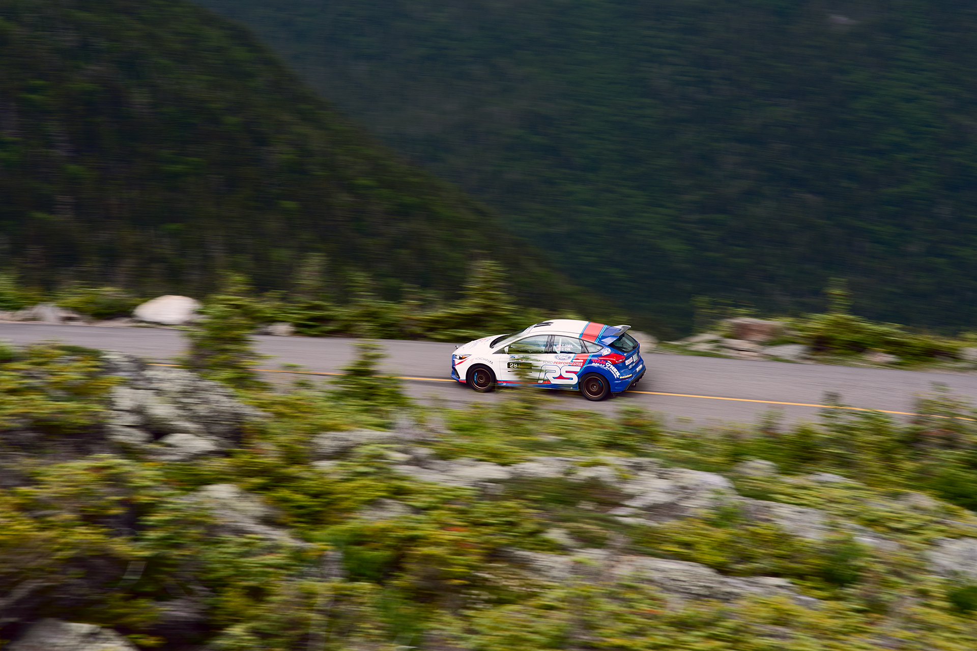 Car 29 at Climb to the Clouds 2017