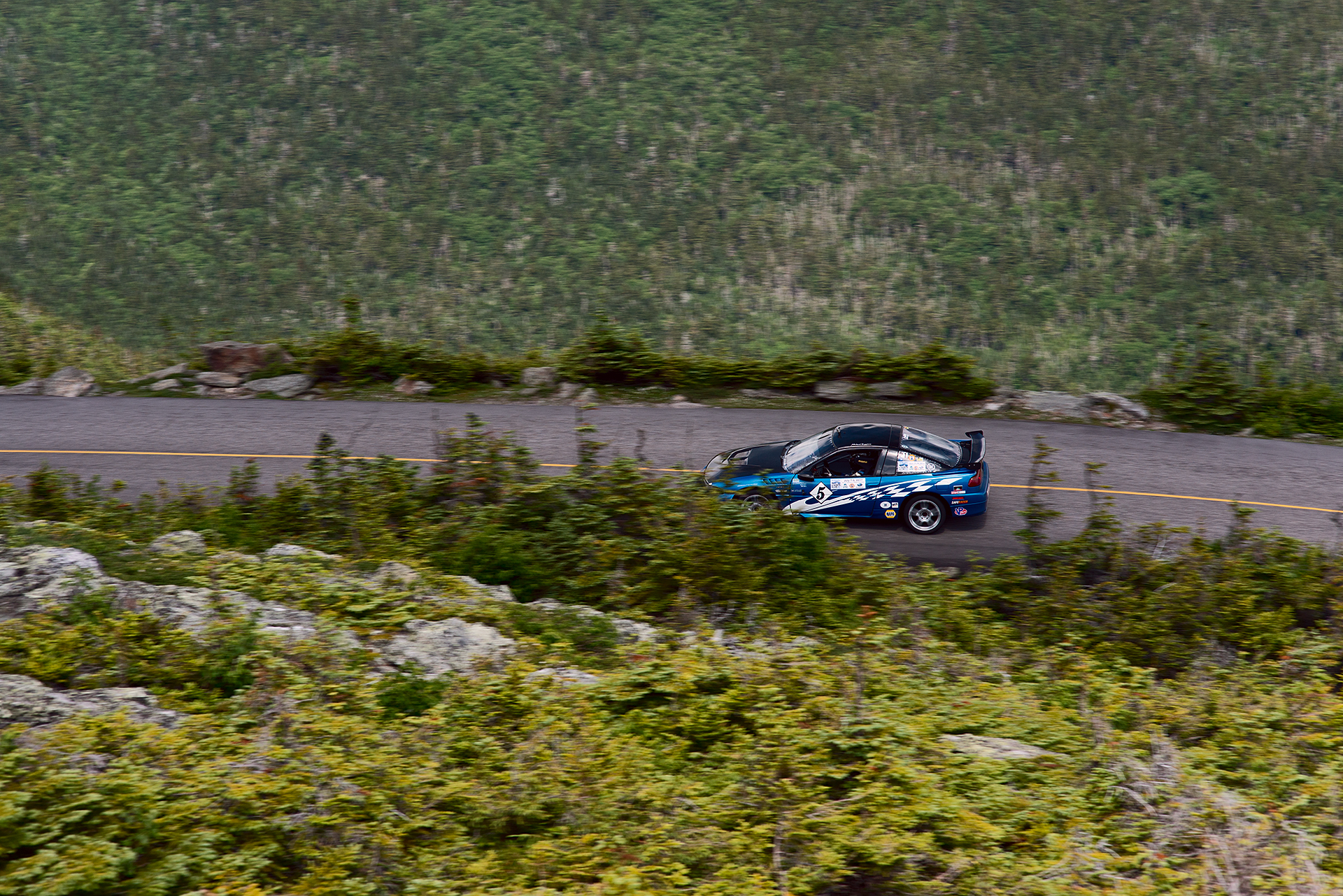 Car 5 at Climb to the Clouds 2017