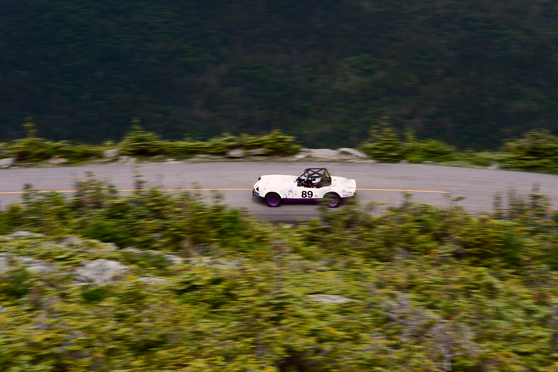 Car 89 at Climb to the Clouds 2017