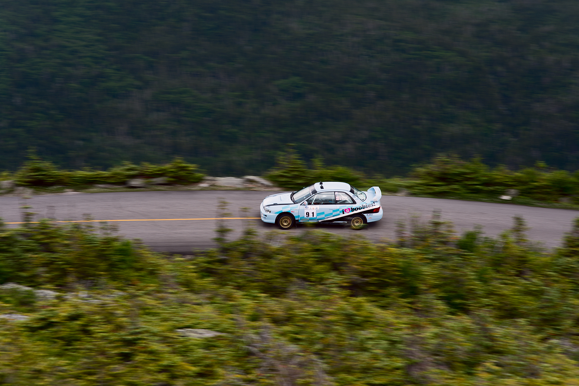 Car 91 at Climb to the Clouds 2017