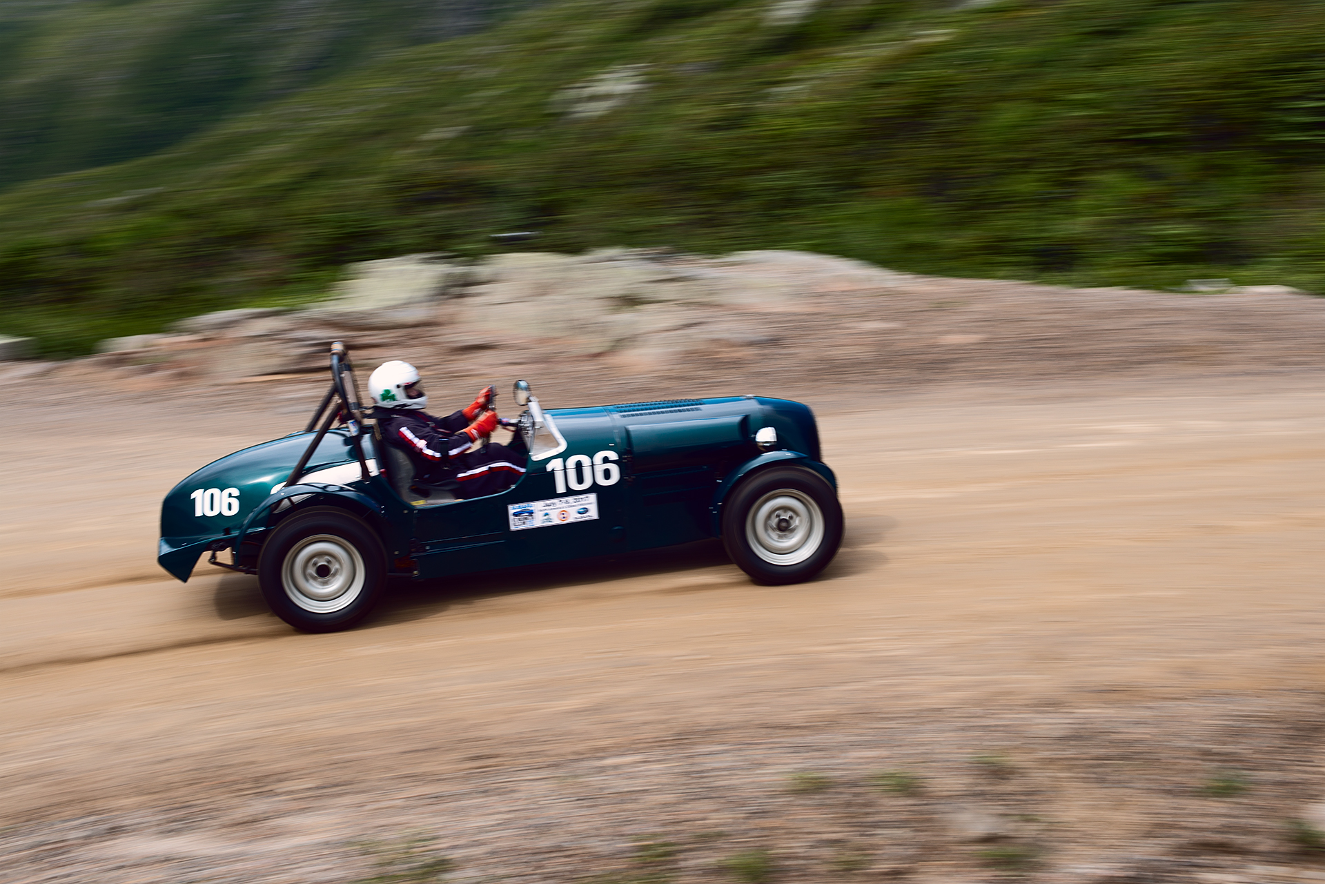 Car 106 at Climb to the Clouds 2017
