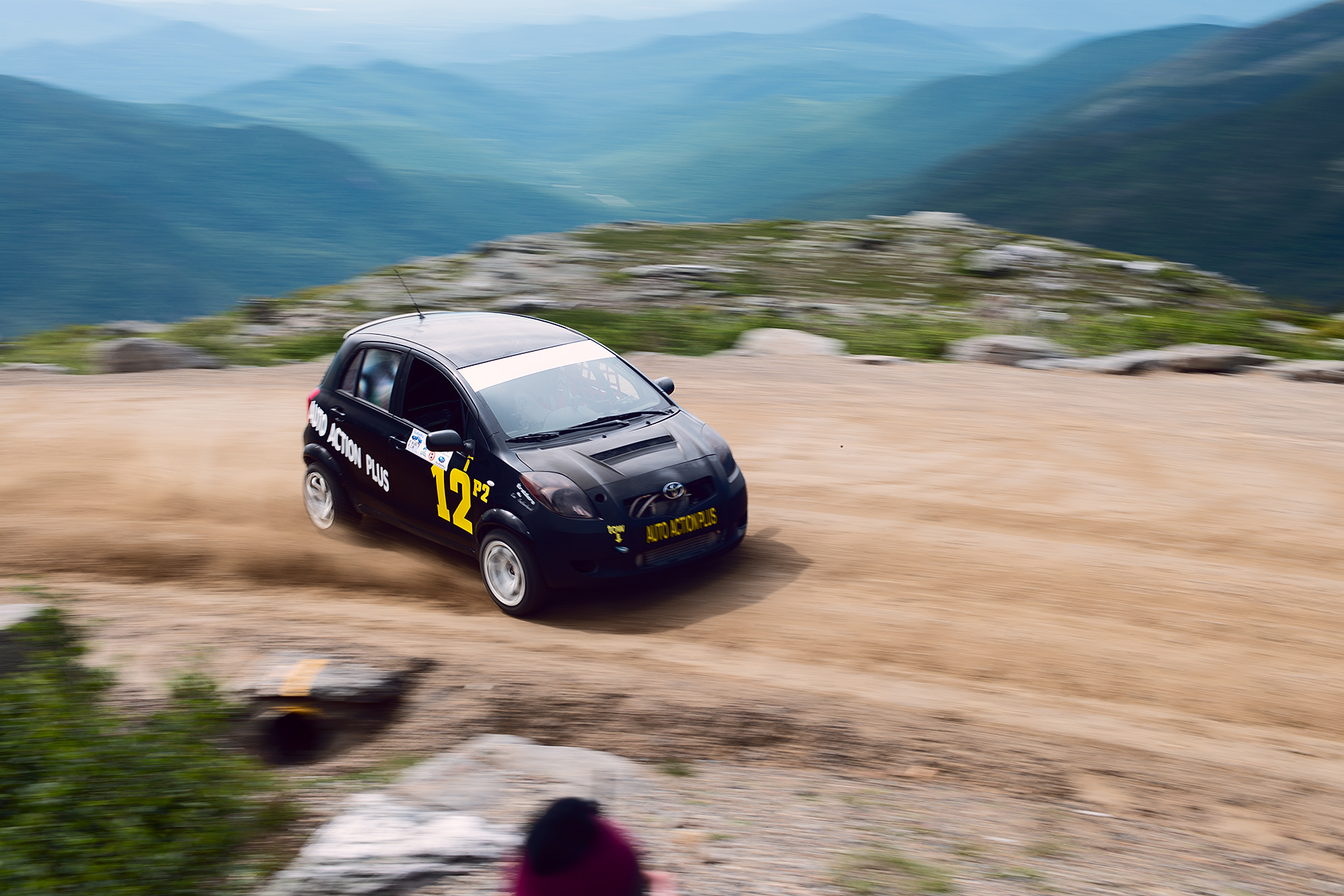 Car 12 at Climb to the Clouds 2017