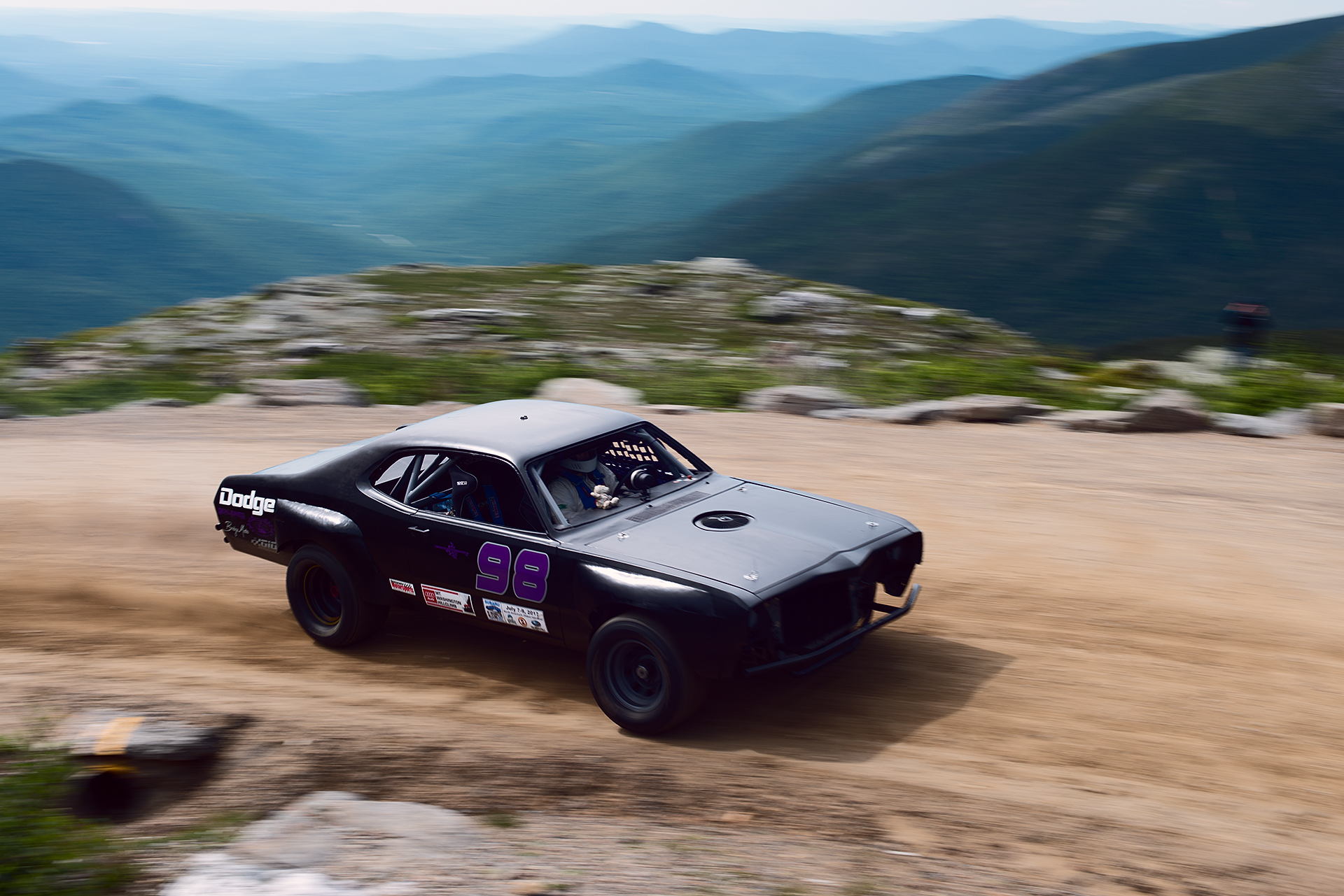 Car 98 at Climb to the Clouds 2017