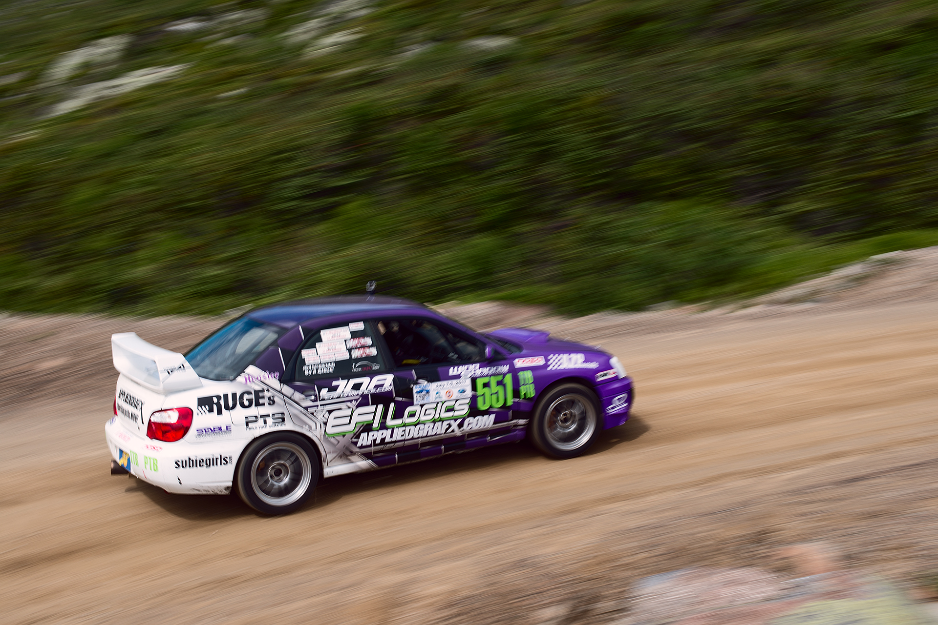 Car 551 at Climb to the Clouds 2017