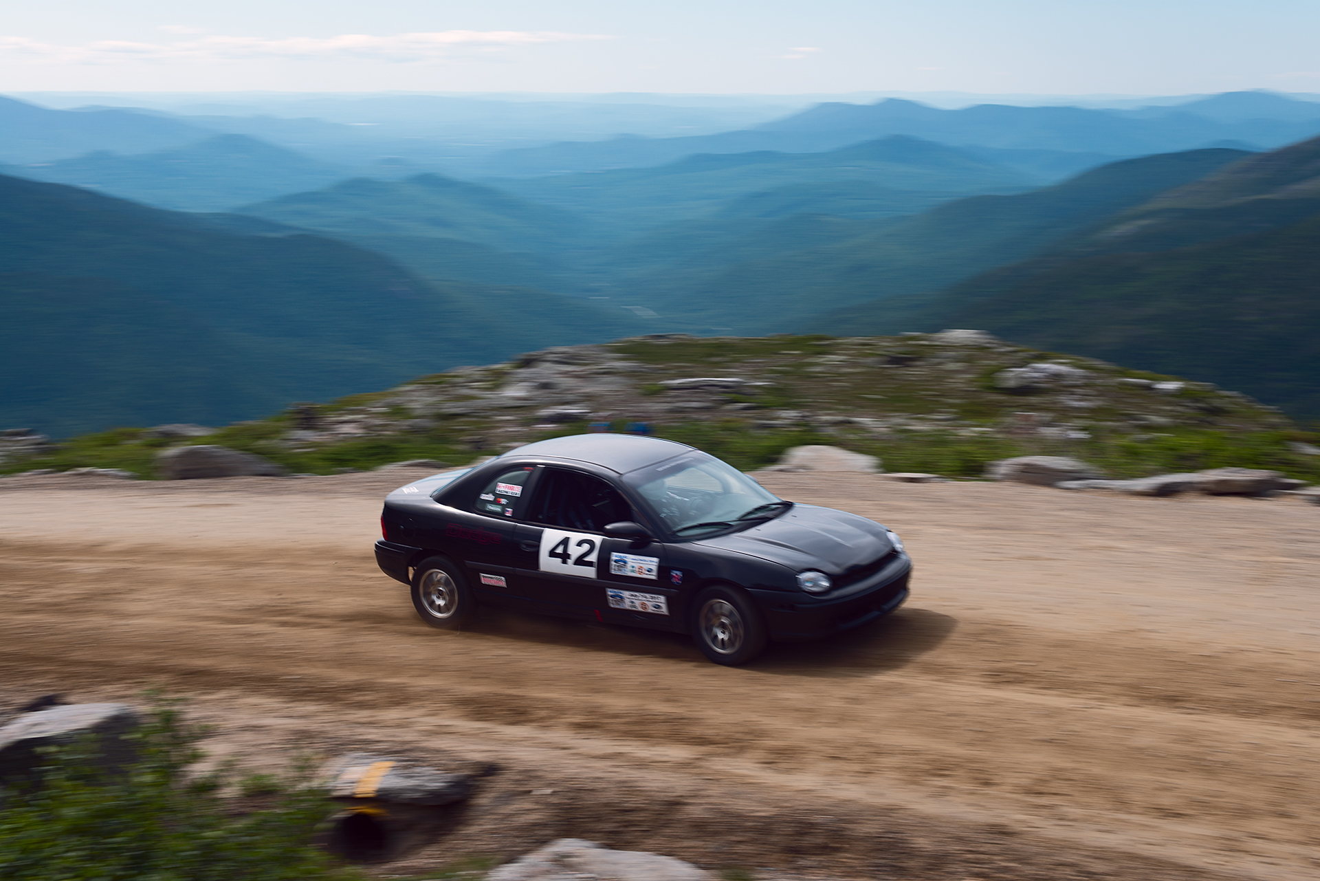Car 42 at Climb to the Clouds 2017