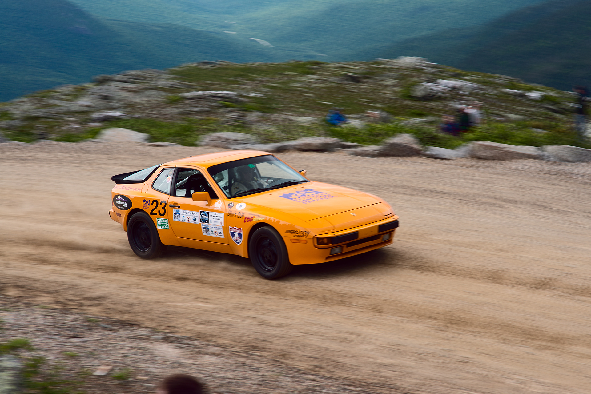 Car 23 at Climb to the Clouds 2017