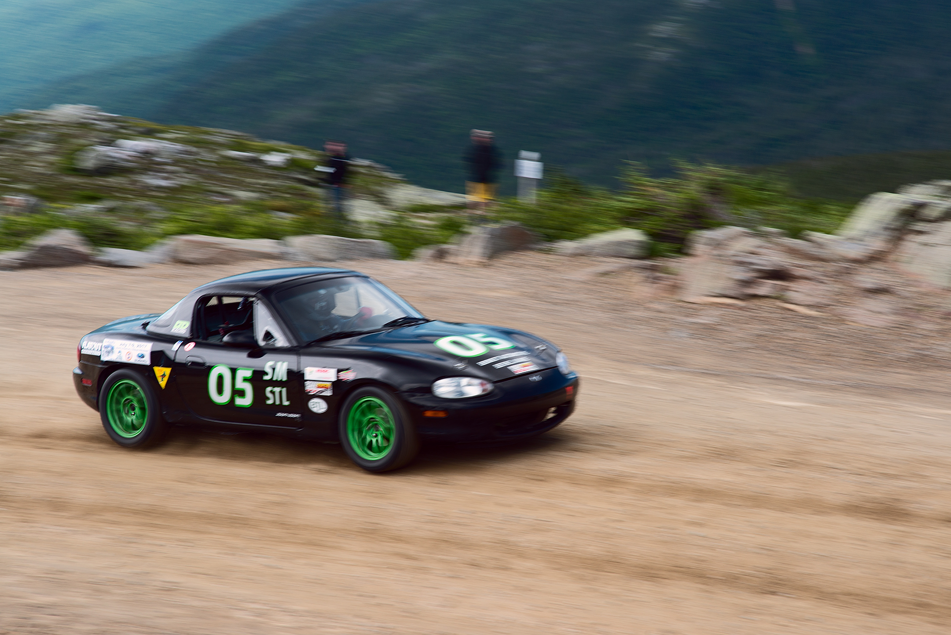 Car 05 at Climb to the Clouds 2017