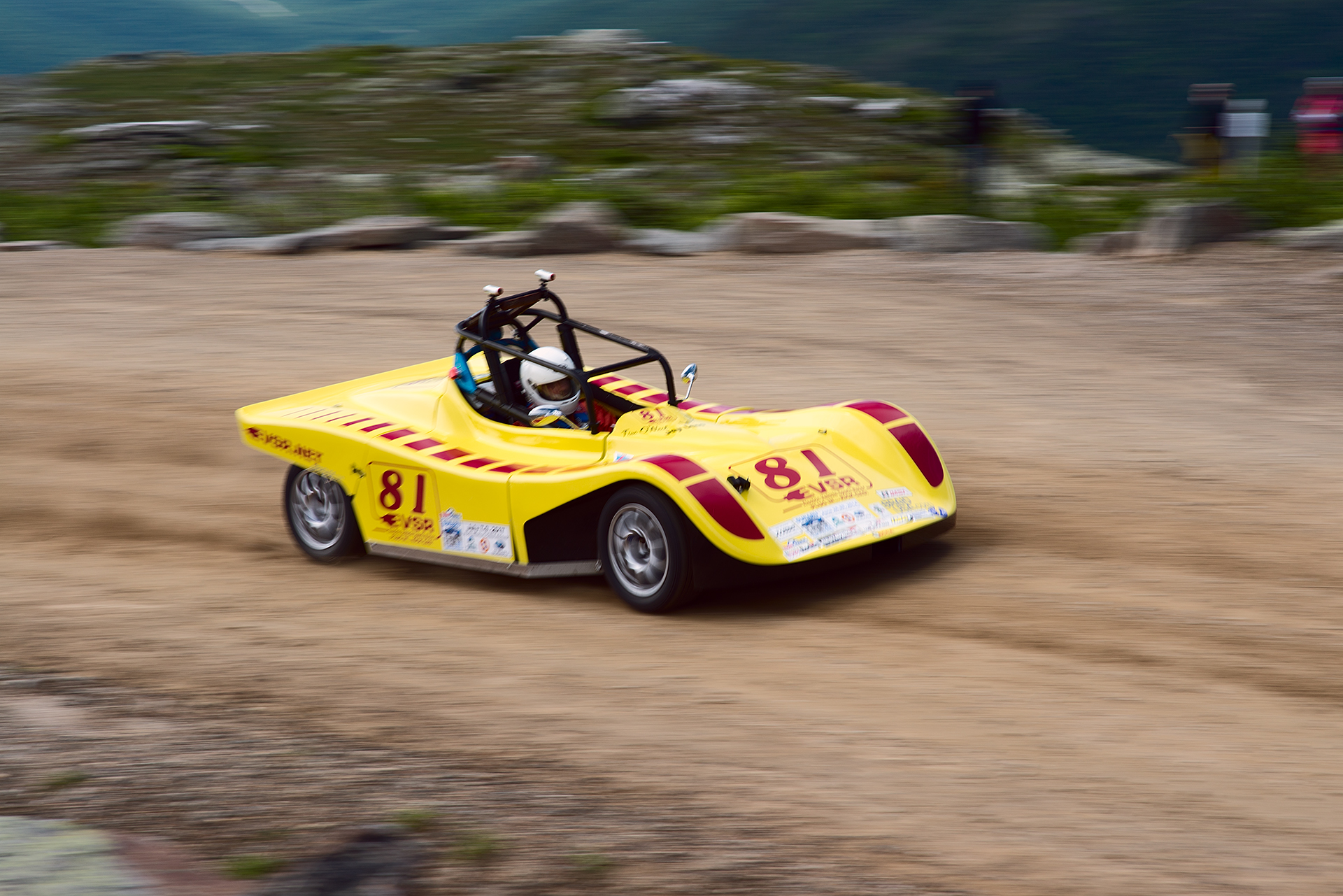 Car 81 at Climb to the Clouds 2017