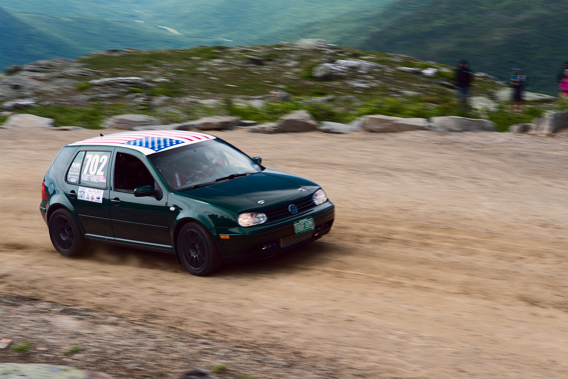 Car 702 at Climb to the Clouds 2017