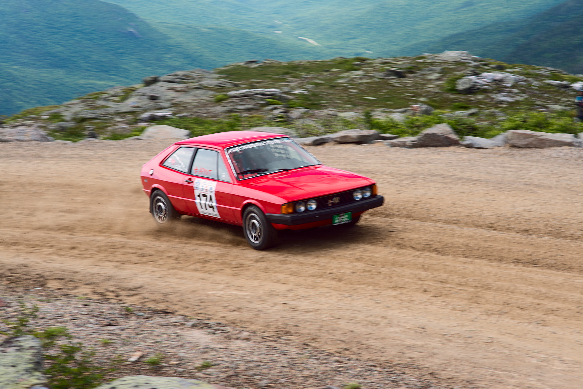 Car 174 at Climb to the Clouds 2017