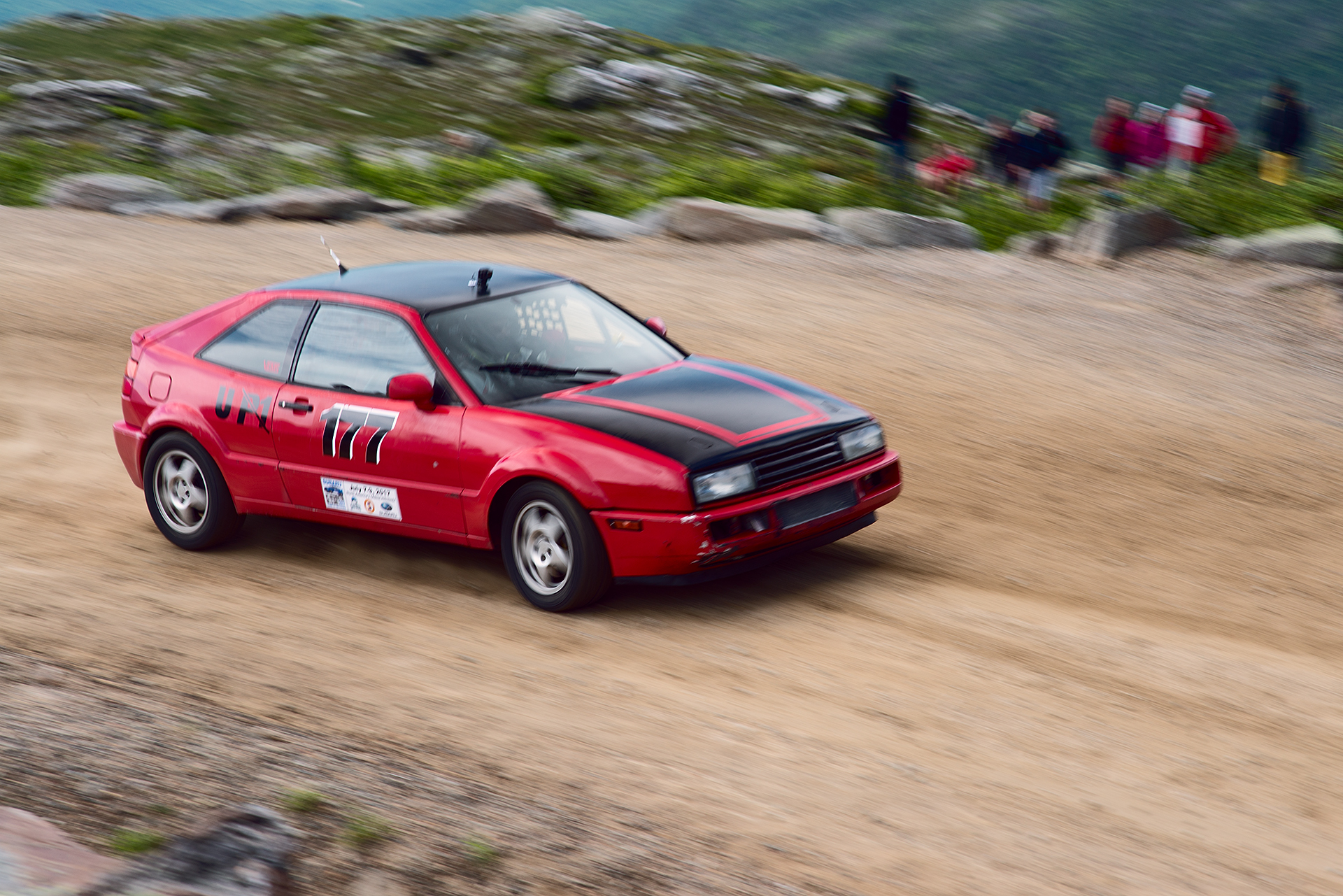 Car 177 at Climb to the Clouds 2017