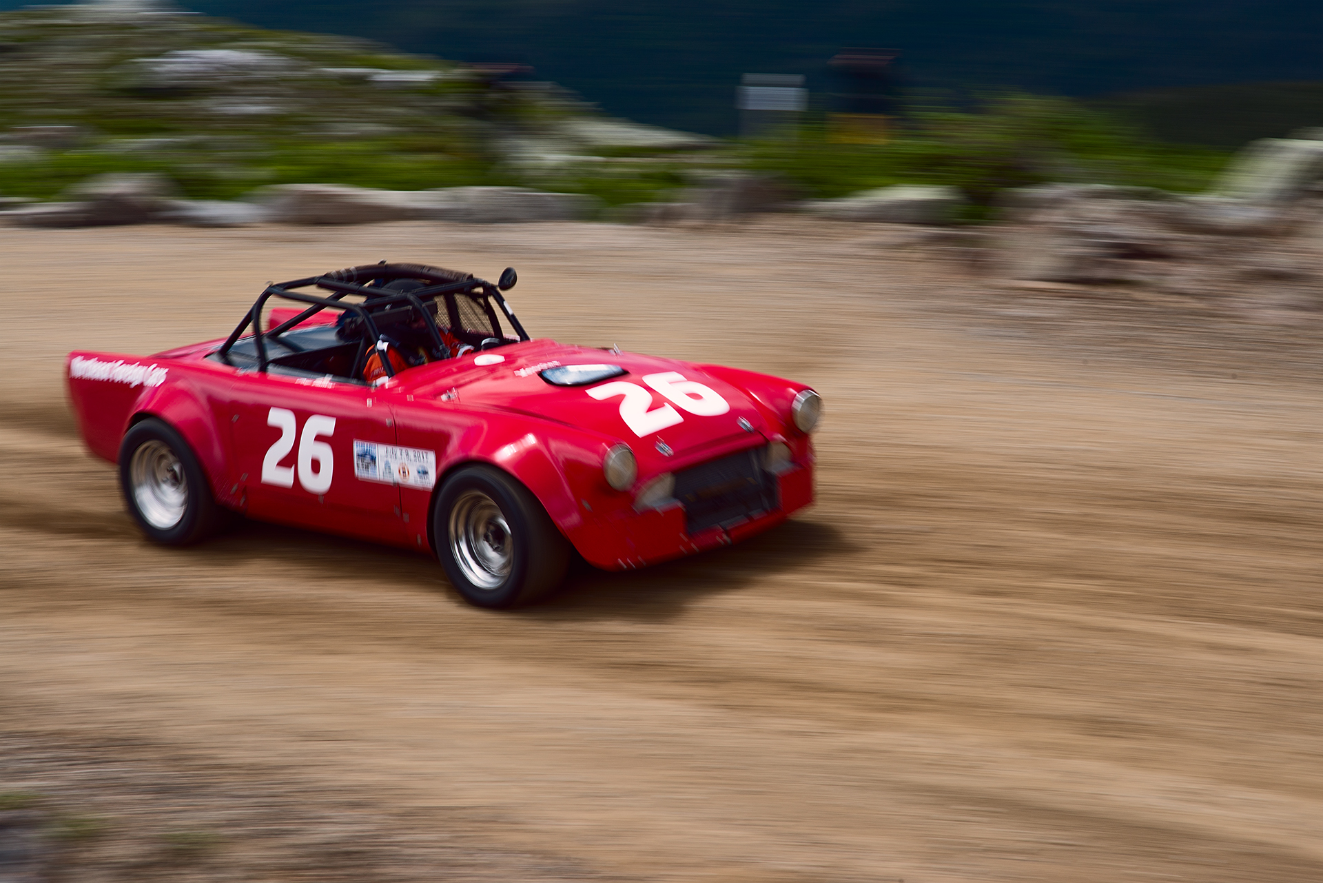Car 26 at Climb to the Clouds 2017