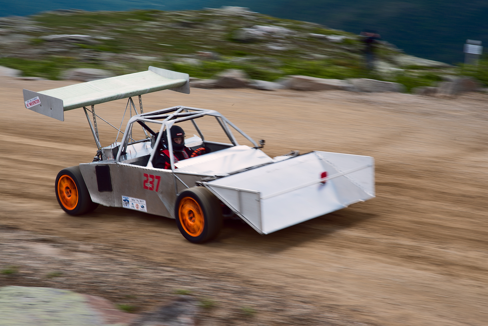 Car 237 at Climb to the Clouds 2017