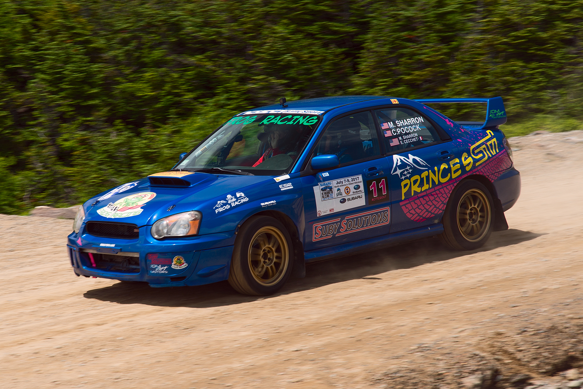 Car 11 at Climb to the Clouds 2017