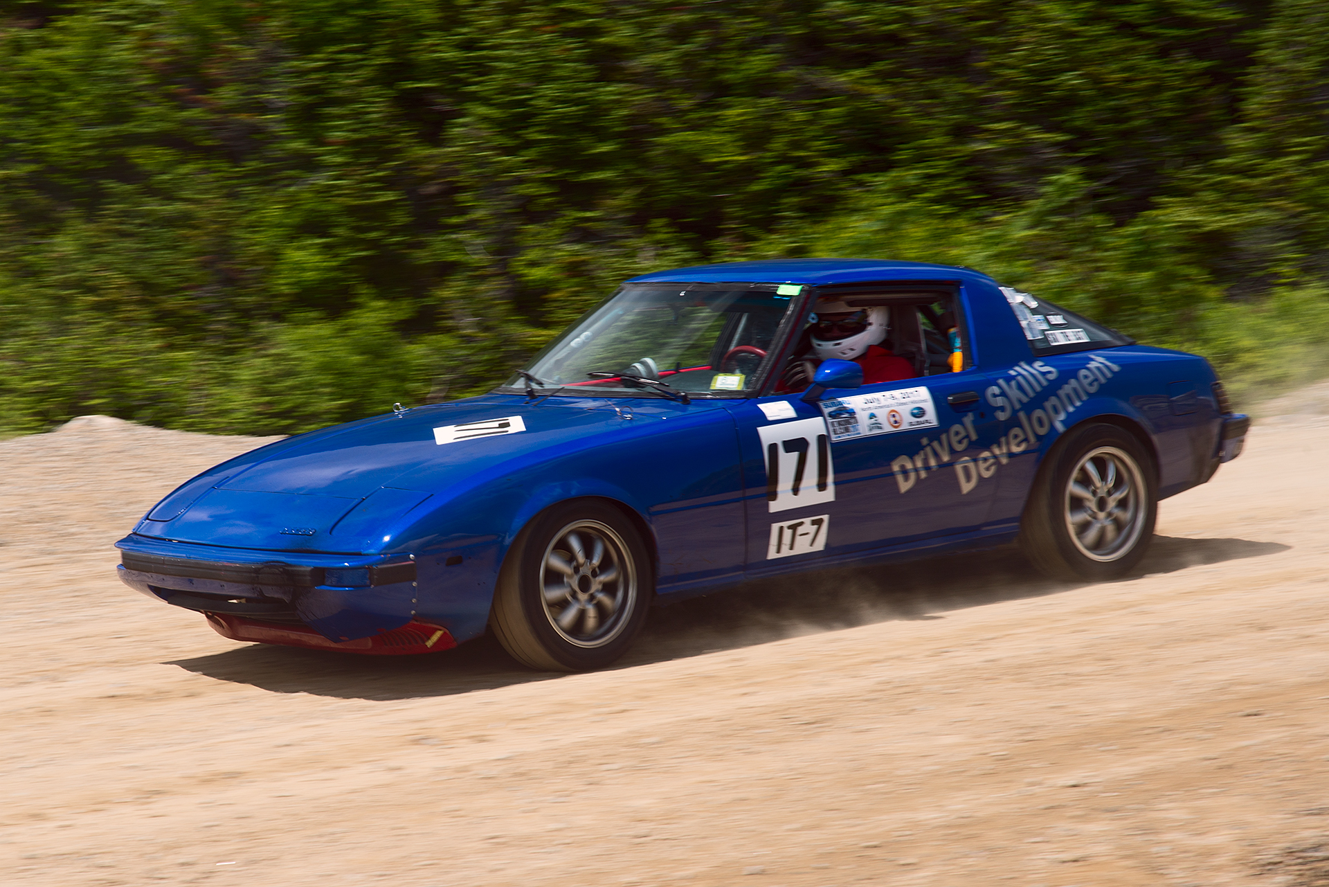 Car 171 at Climb to the Clouds 2017