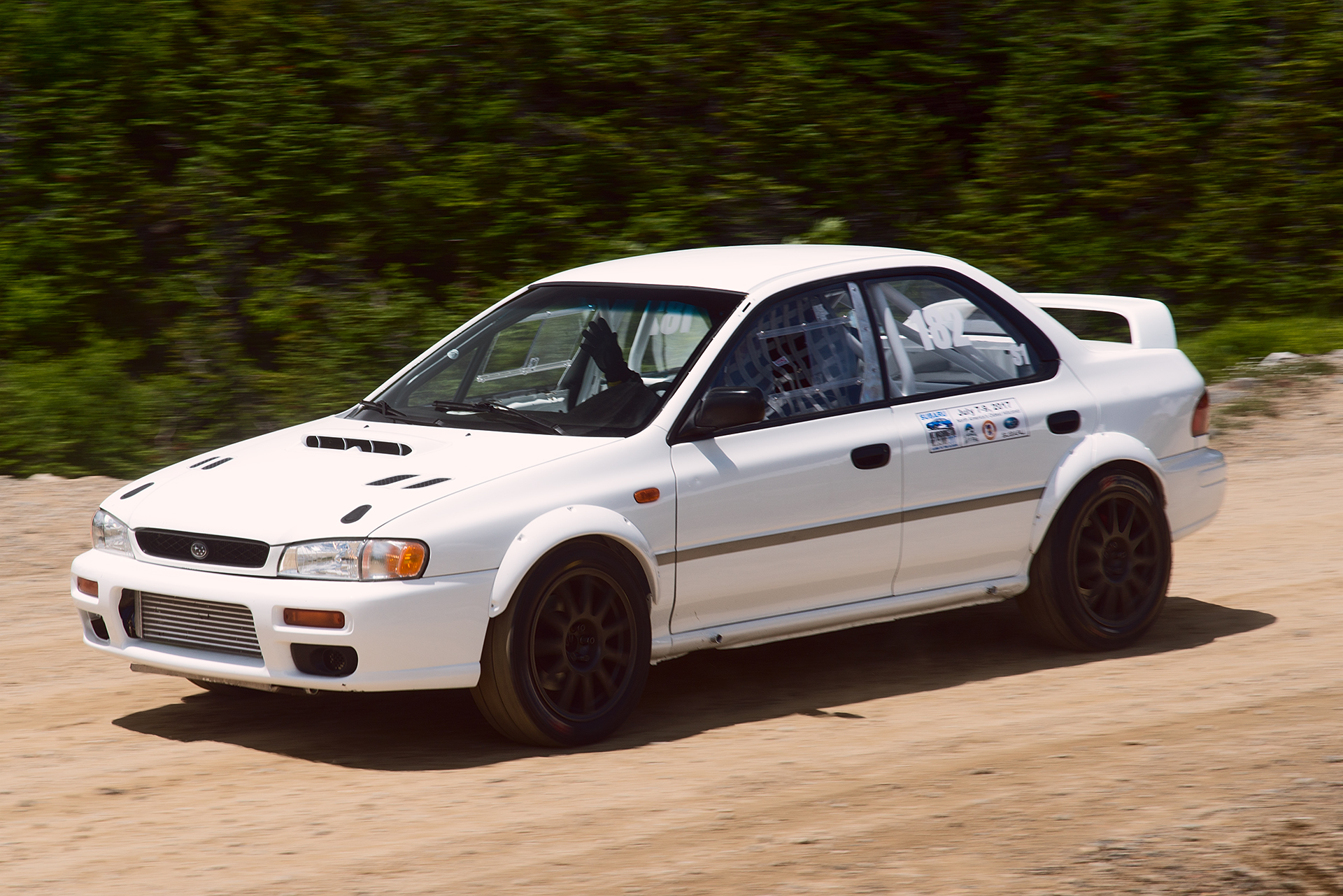 Car 182 at Climb to the Clouds 2017