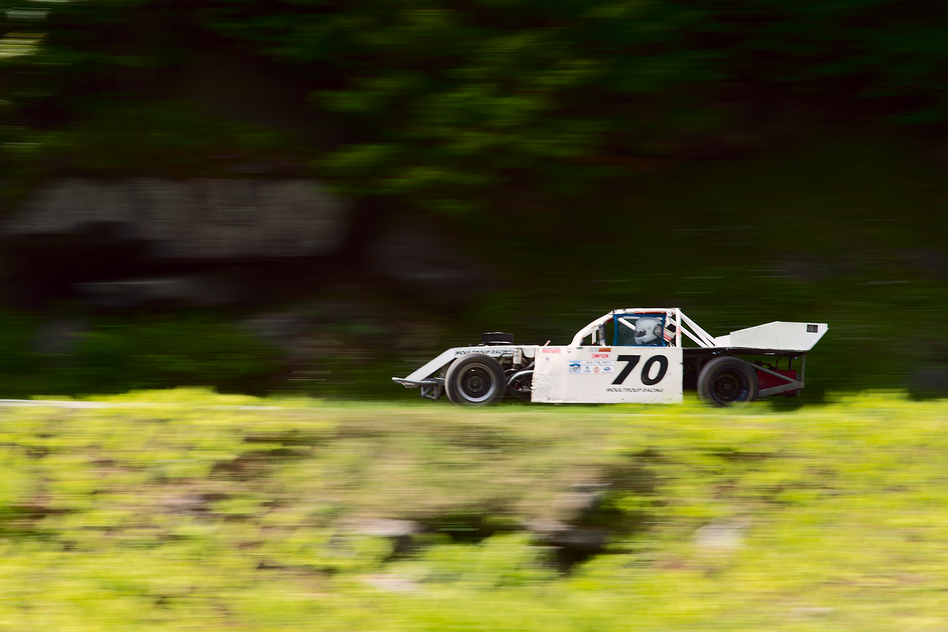 Car 70 at Climb to the Clouds 2017