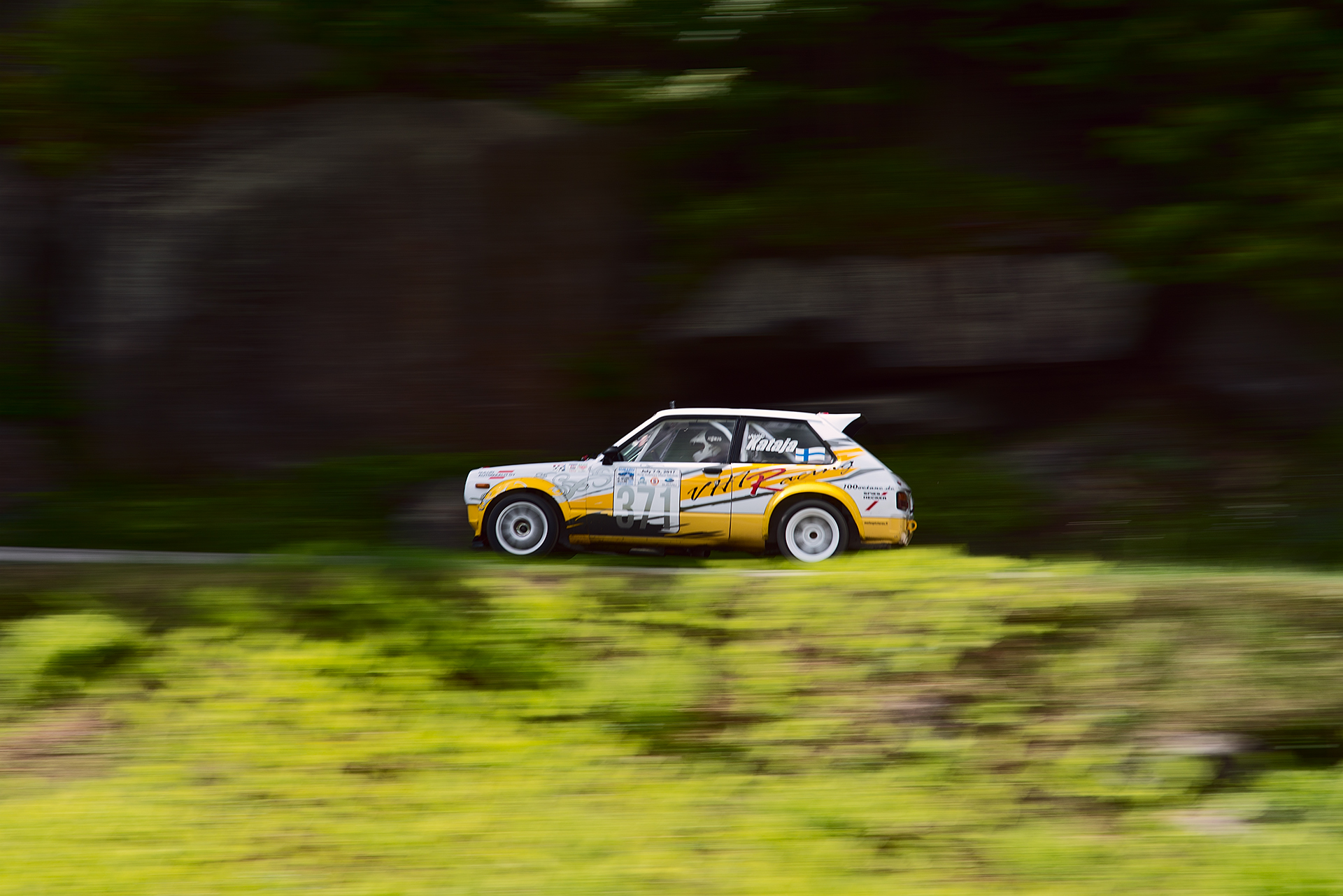 Car 371 at Climb to the Clouds 2017