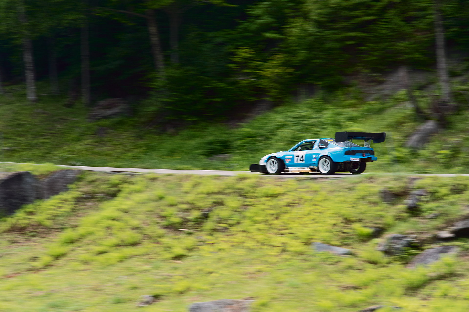 Car 74 at Climb to the Clouds 2017