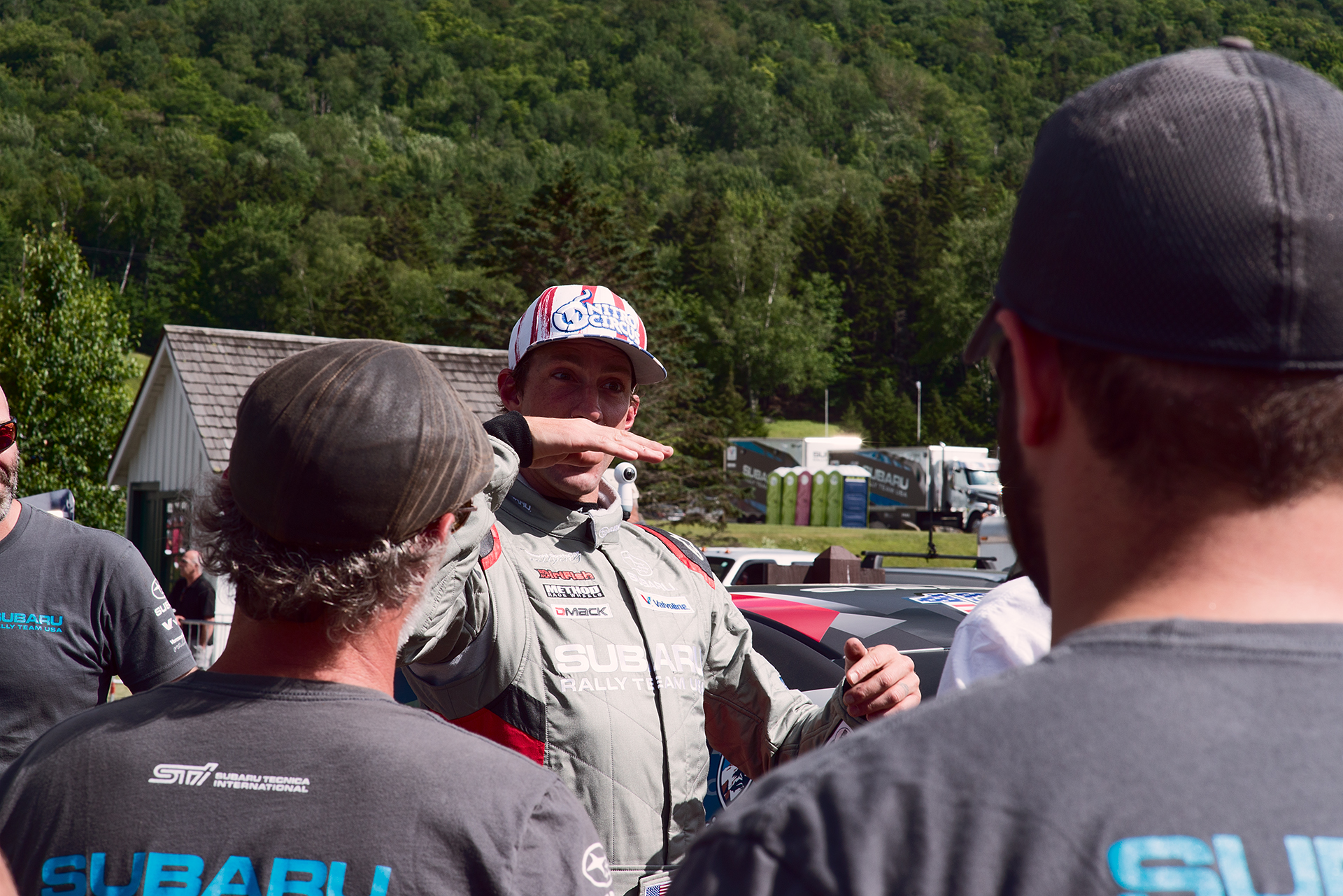 Travis Pastrana at Climb to the Clouds 2017