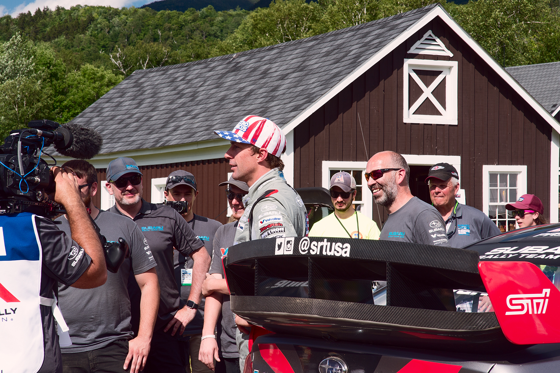 Travis Pastrana and Team Subaru at Climb to the Clouds 2017